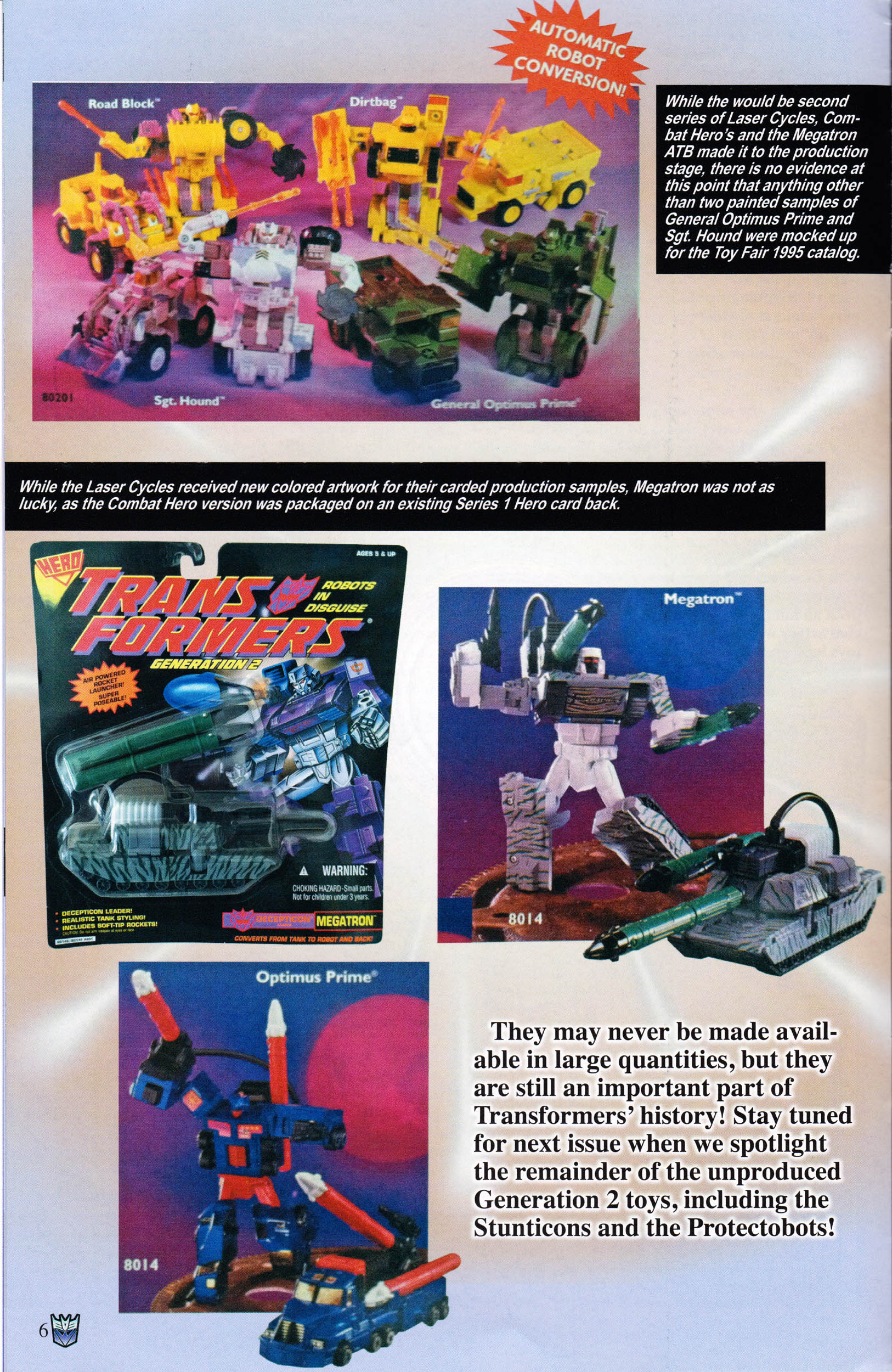 Read online Transformers: Collectors' Club comic -  Issue #59 - 6