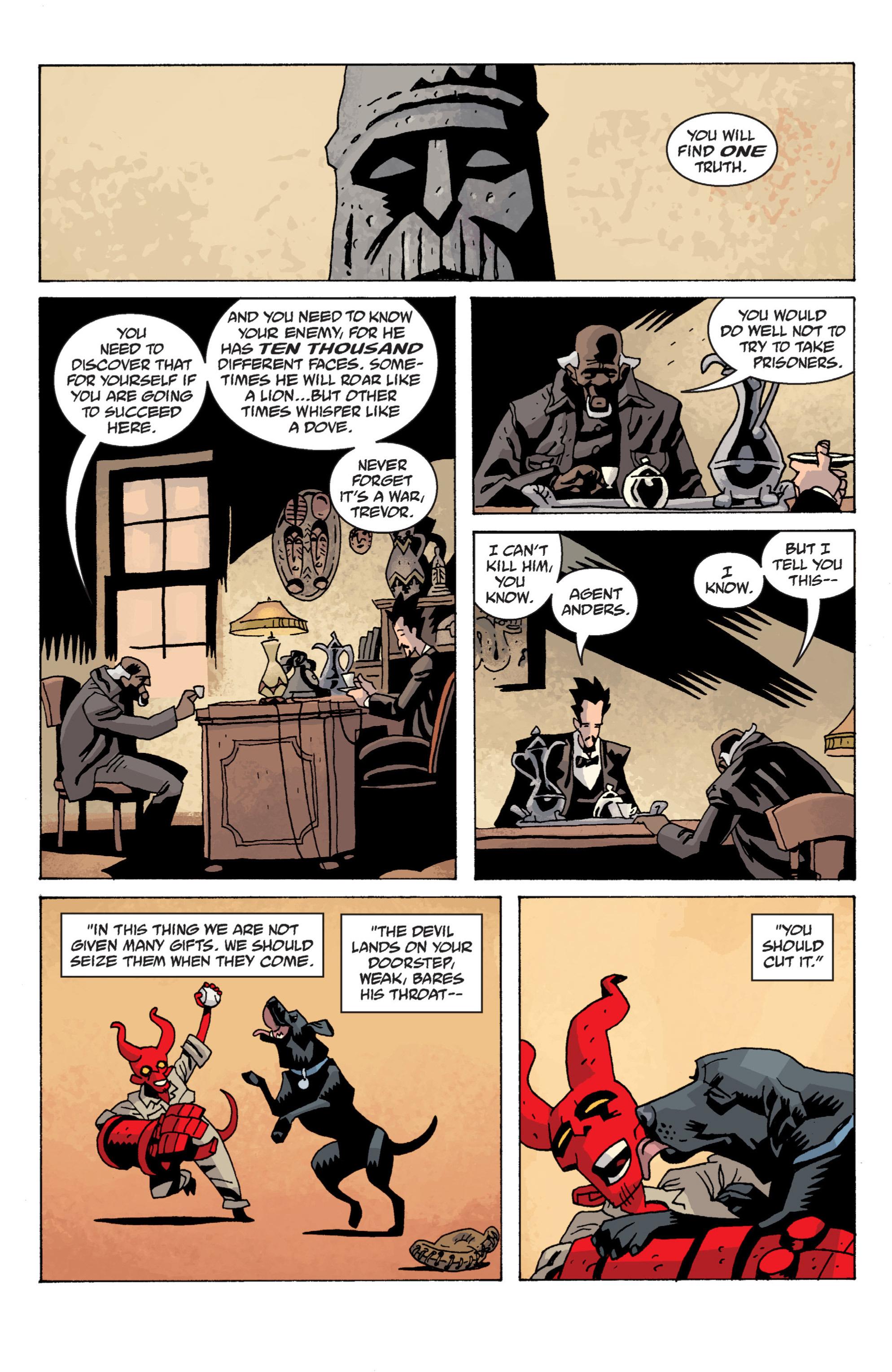 Read online B.P.R.D. (2003) comic -  Issue # TPB 13 - 133