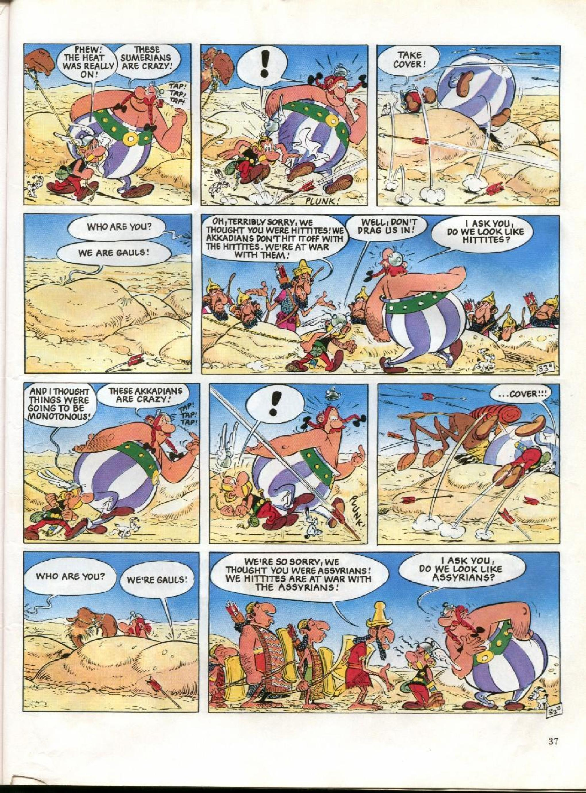 Read online Asterix comic -  Issue #26 - 34