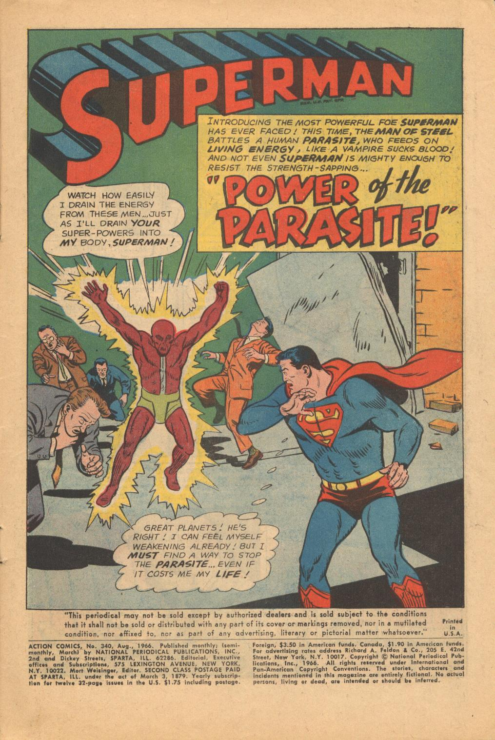 Read online Action Comics (1938) comic -  Issue #340 - 3
