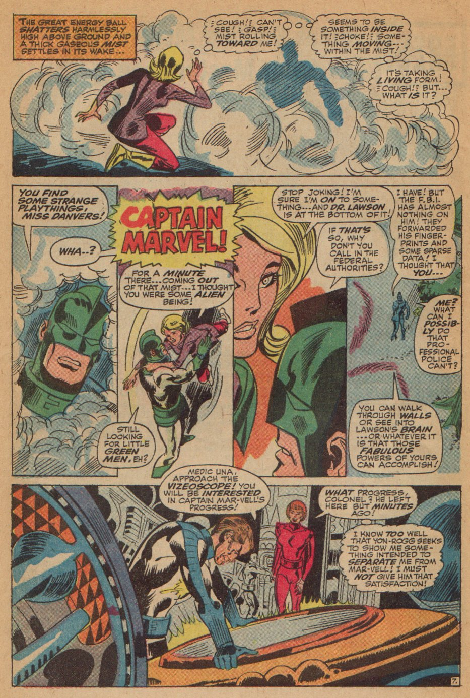 Captain Marvel (1968) Issue #7 #7 - English 8