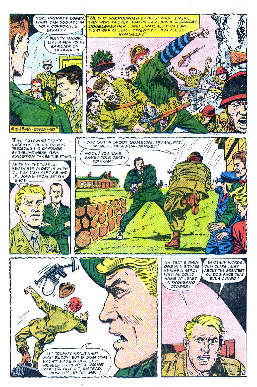 Read online Sgt. Fury comic -  Issue #60 - 16