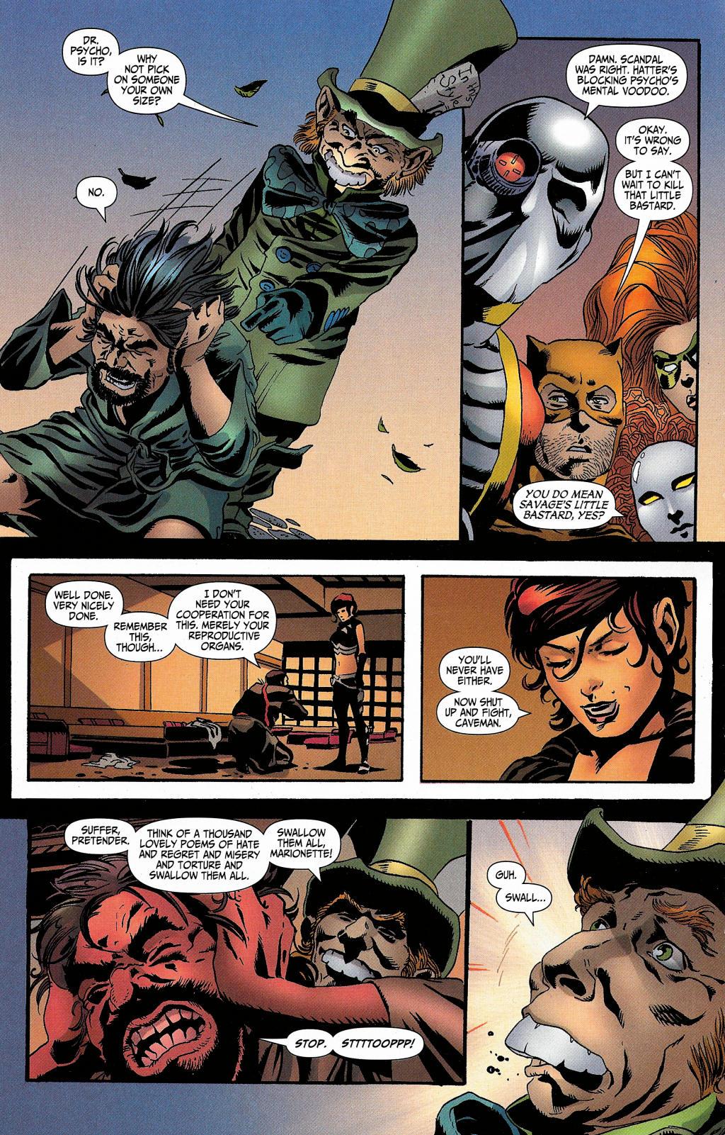 Read online Secret Six (2006) comic -  Issue #5 - 35