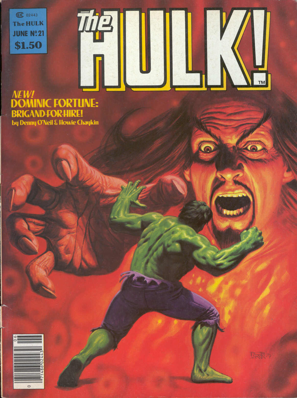 Hulk (1978) issue 21 - Page 1