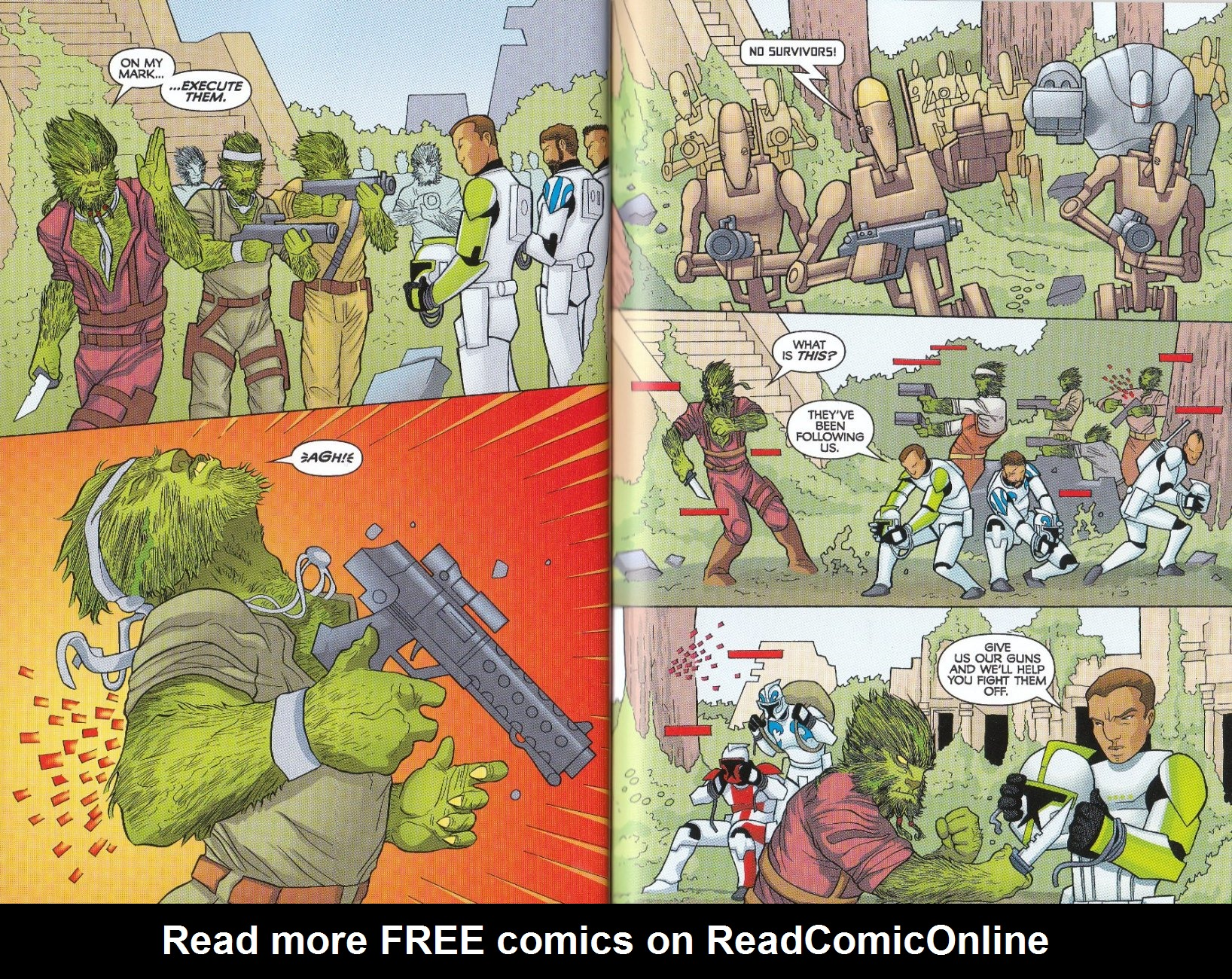 Read online Star Wars: The Clone Wars - The Enemy Within comic -  Issue # Full - 22