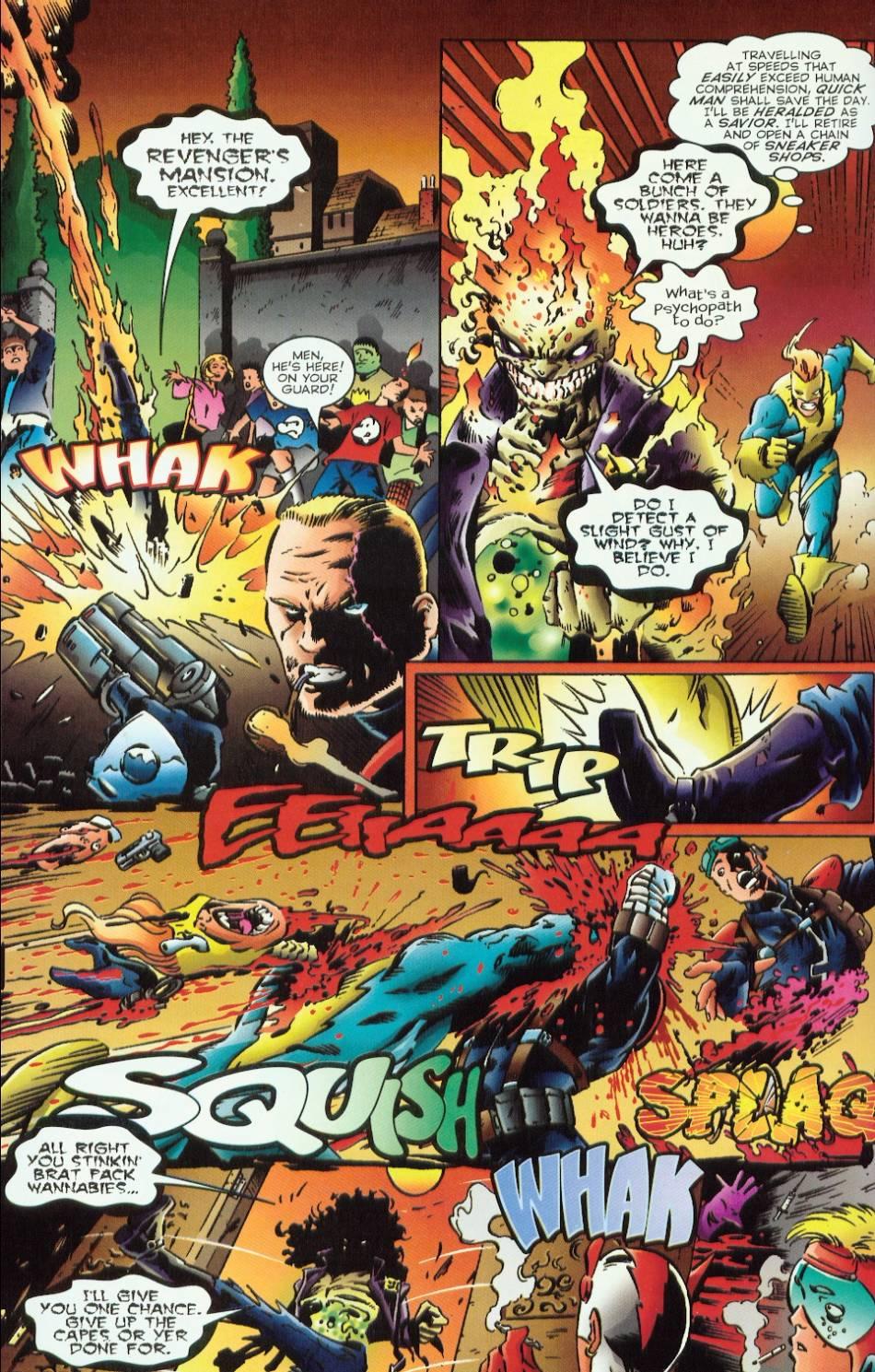 Read online Evil Ernie vs. the Superheroes comic -  Issue #1 - 20