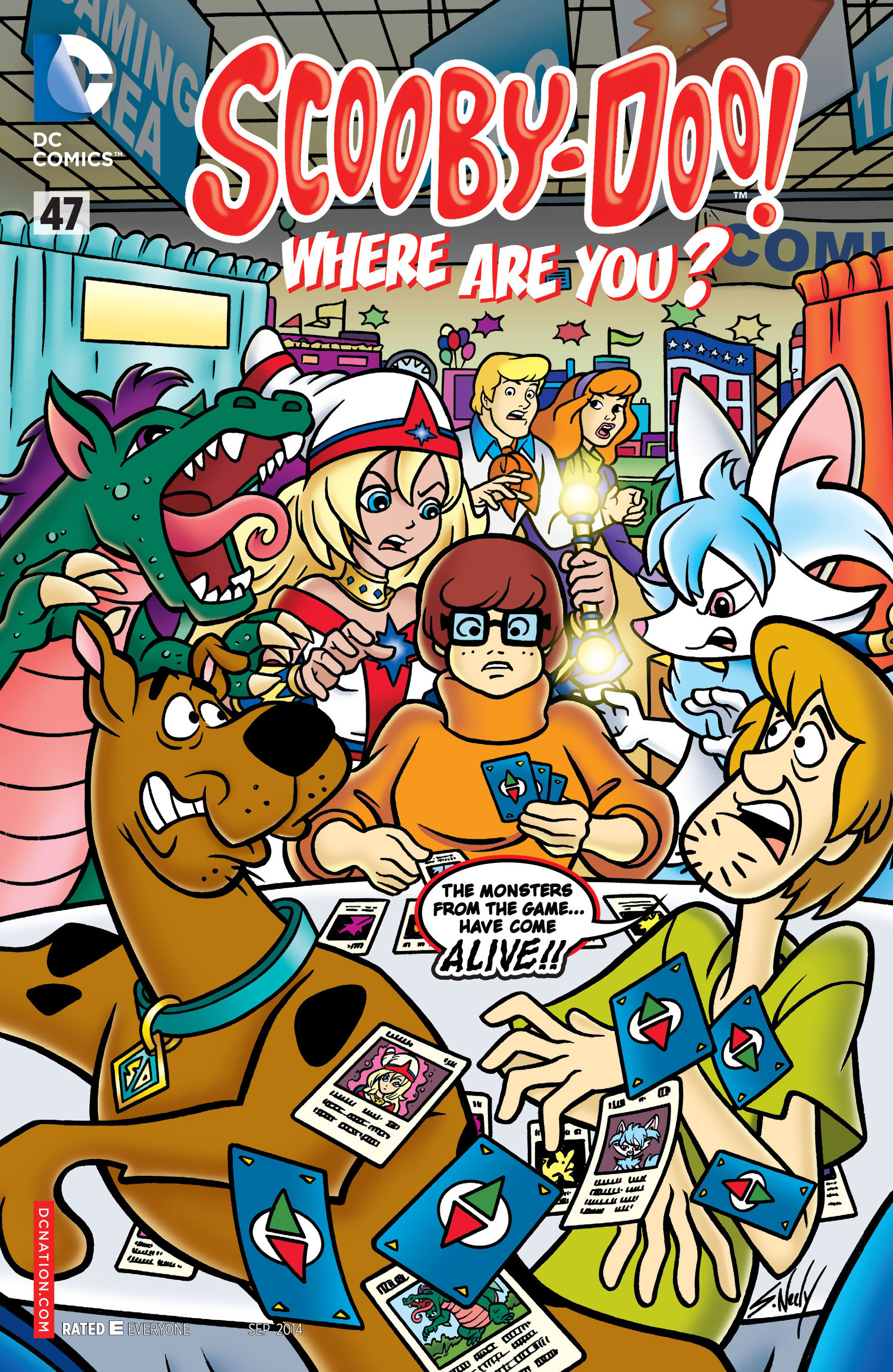 Read online Scooby-Doo: Where Are You? comic -  Issue #47 - 1
