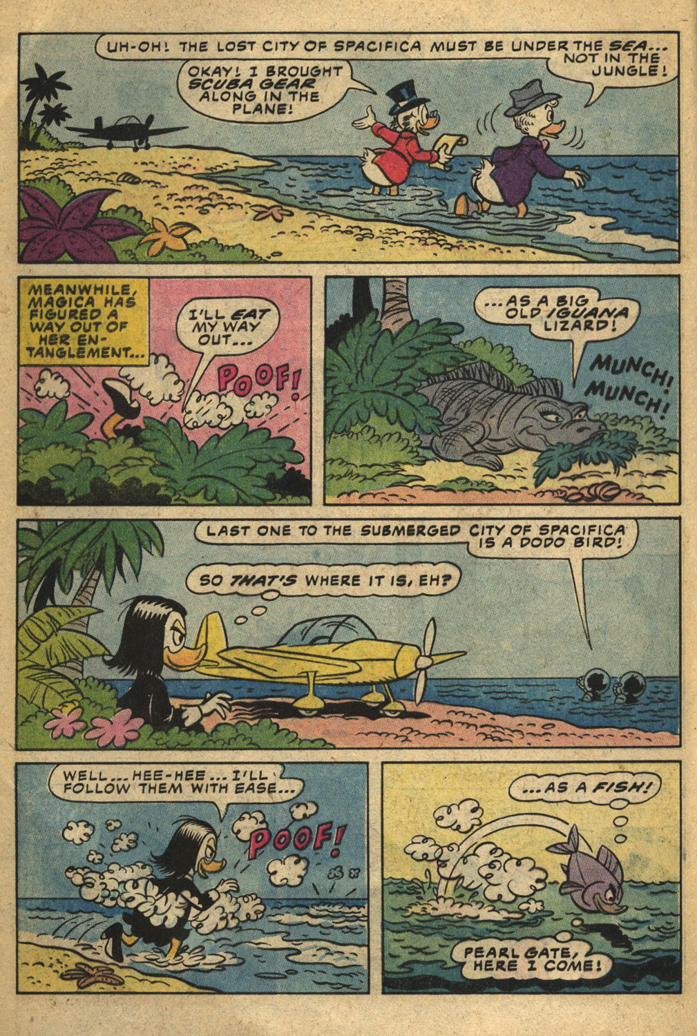 Read online Uncle Scrooge (1953) comic -  Issue #193 - 8
