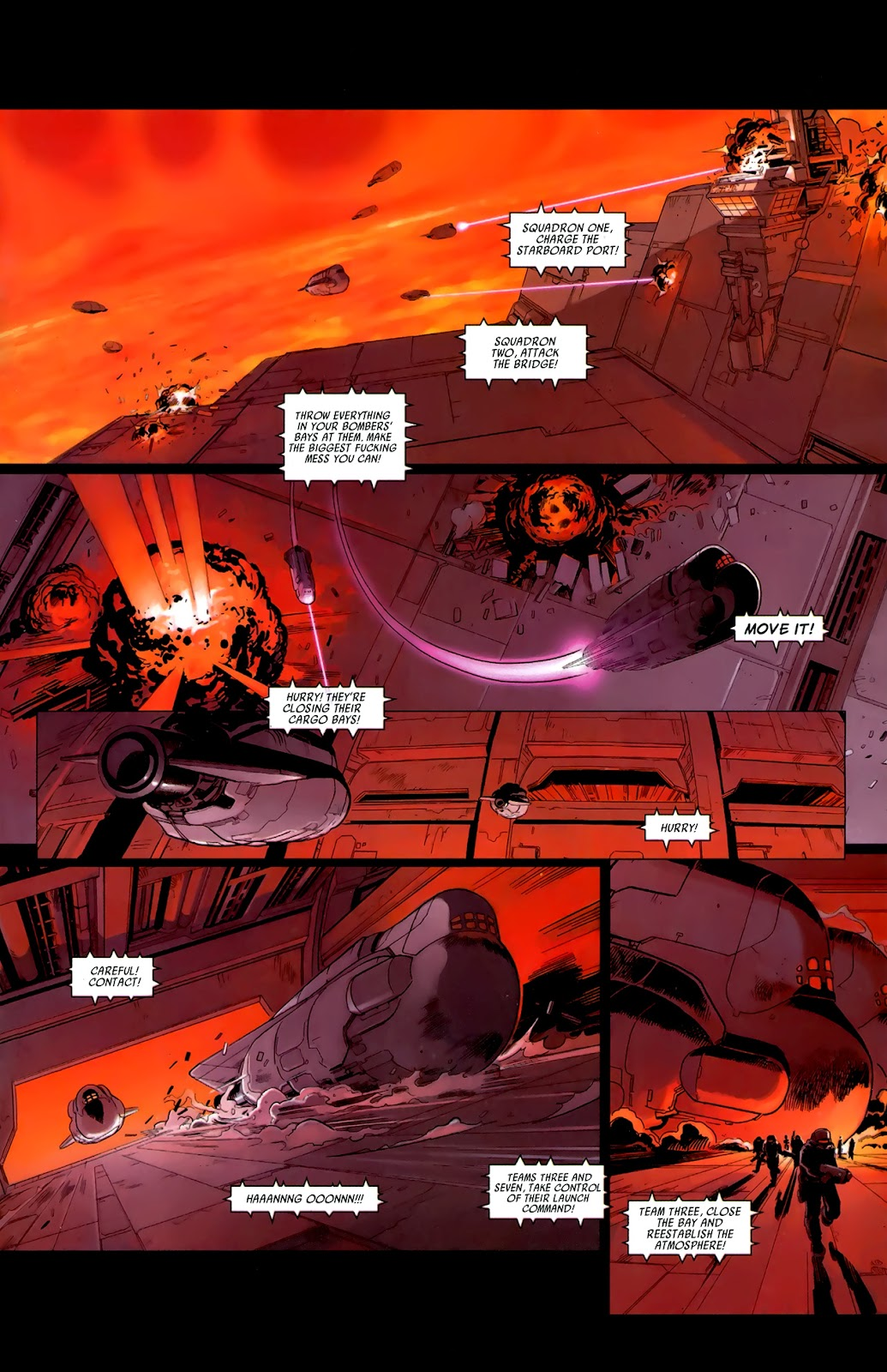 Read online Universal War One: Revelations comic -  Issue #3 - 27