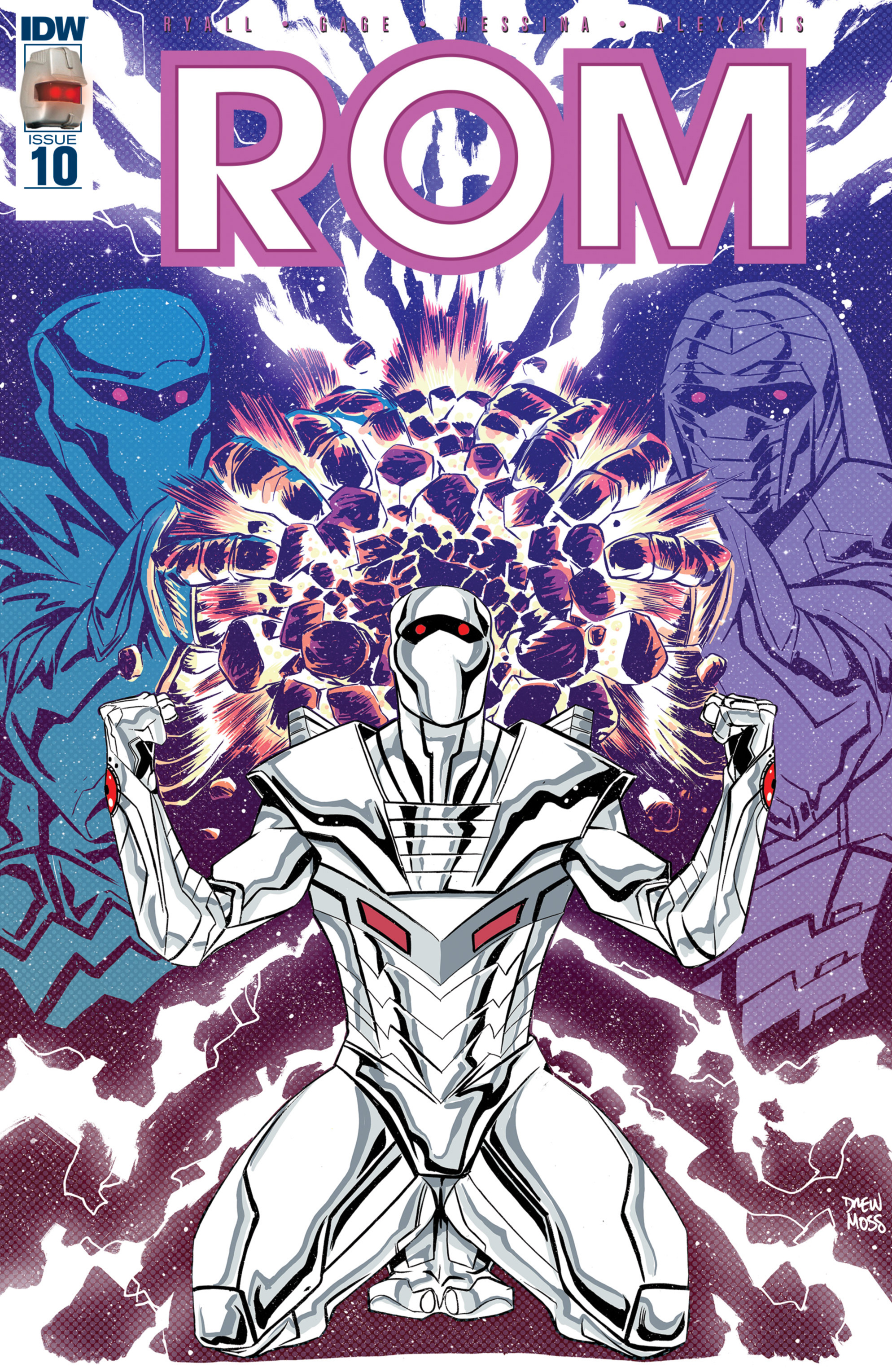 Read online ROM (2016) comic -  Issue #10 - 1
