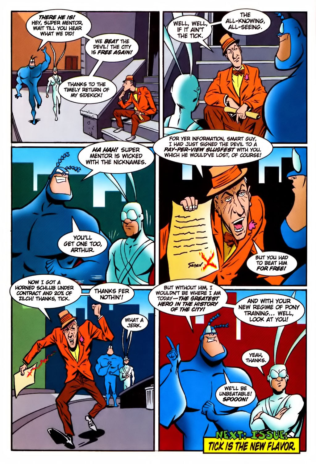 Read online The Tick: Days of Drama comic -  Issue #4 - 26