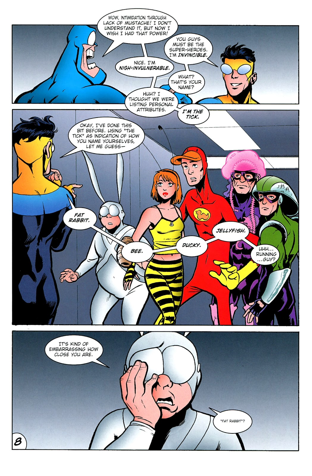 Read online The Tick comic -  Issue #100 - 10