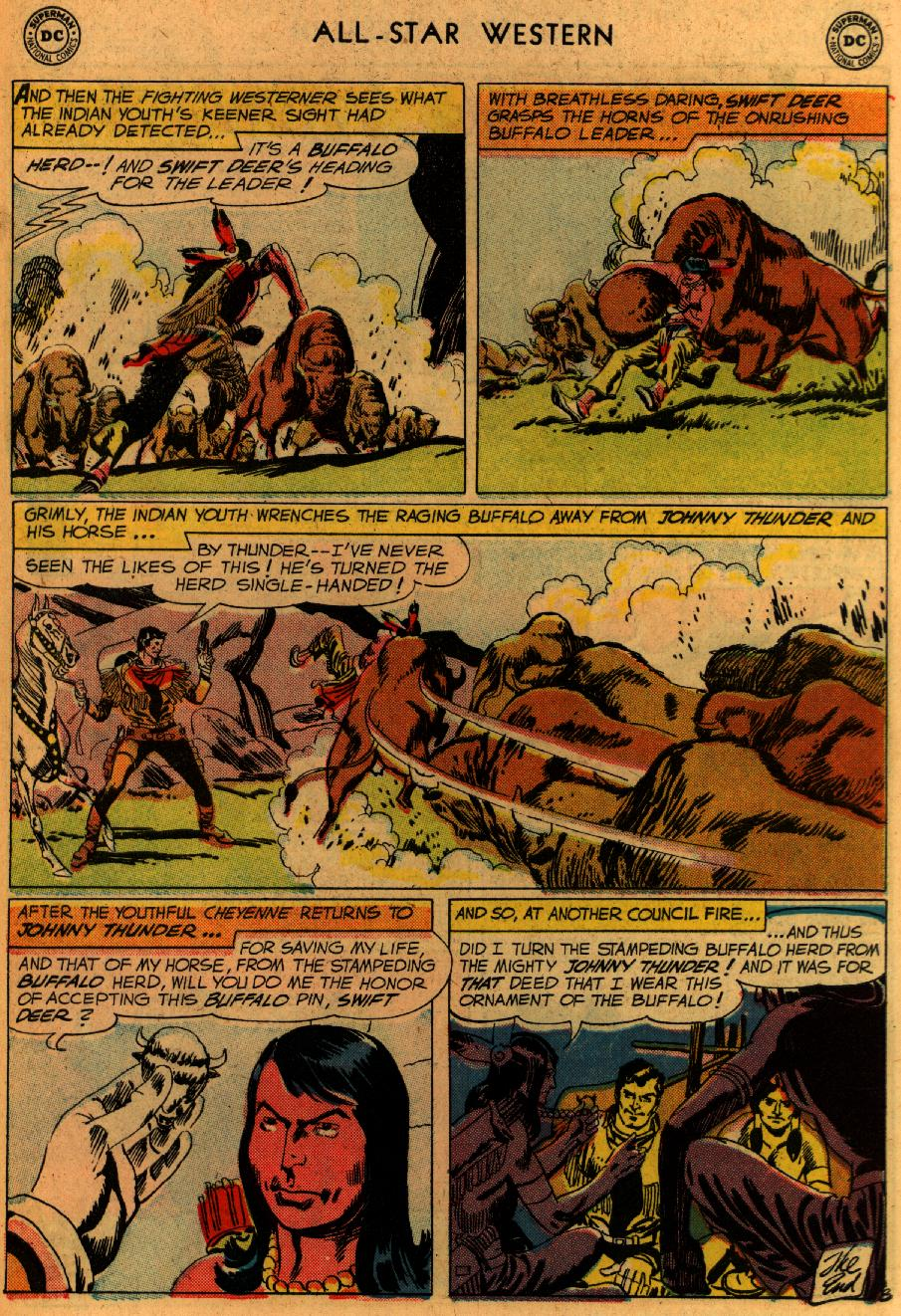 Read online All-Star Western (1951) comic -  Issue #102 - 31