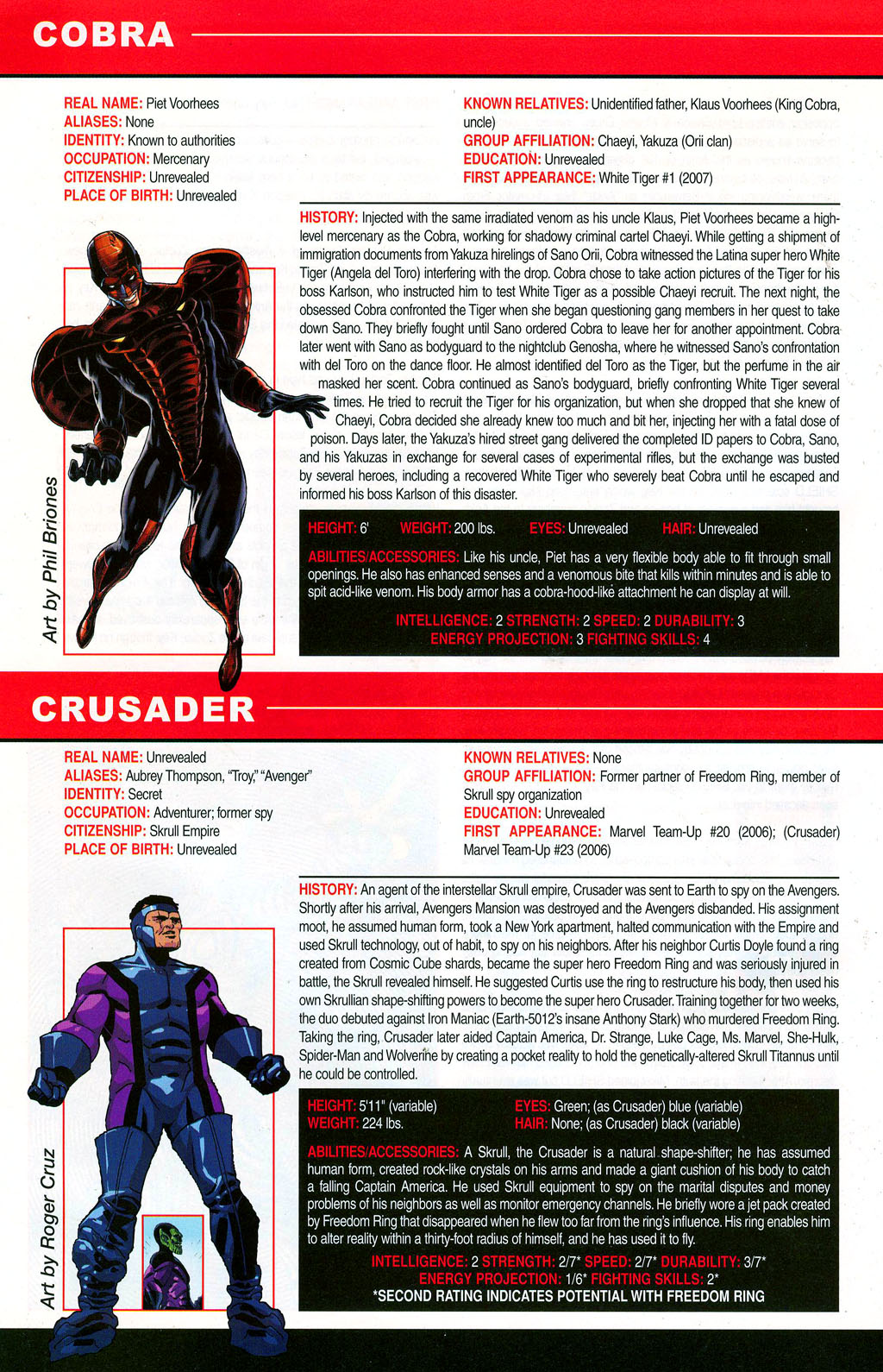 Read online All-New Official Handbook of the Marvel Universe A to Z: Update comic -  Issue #3 - 64