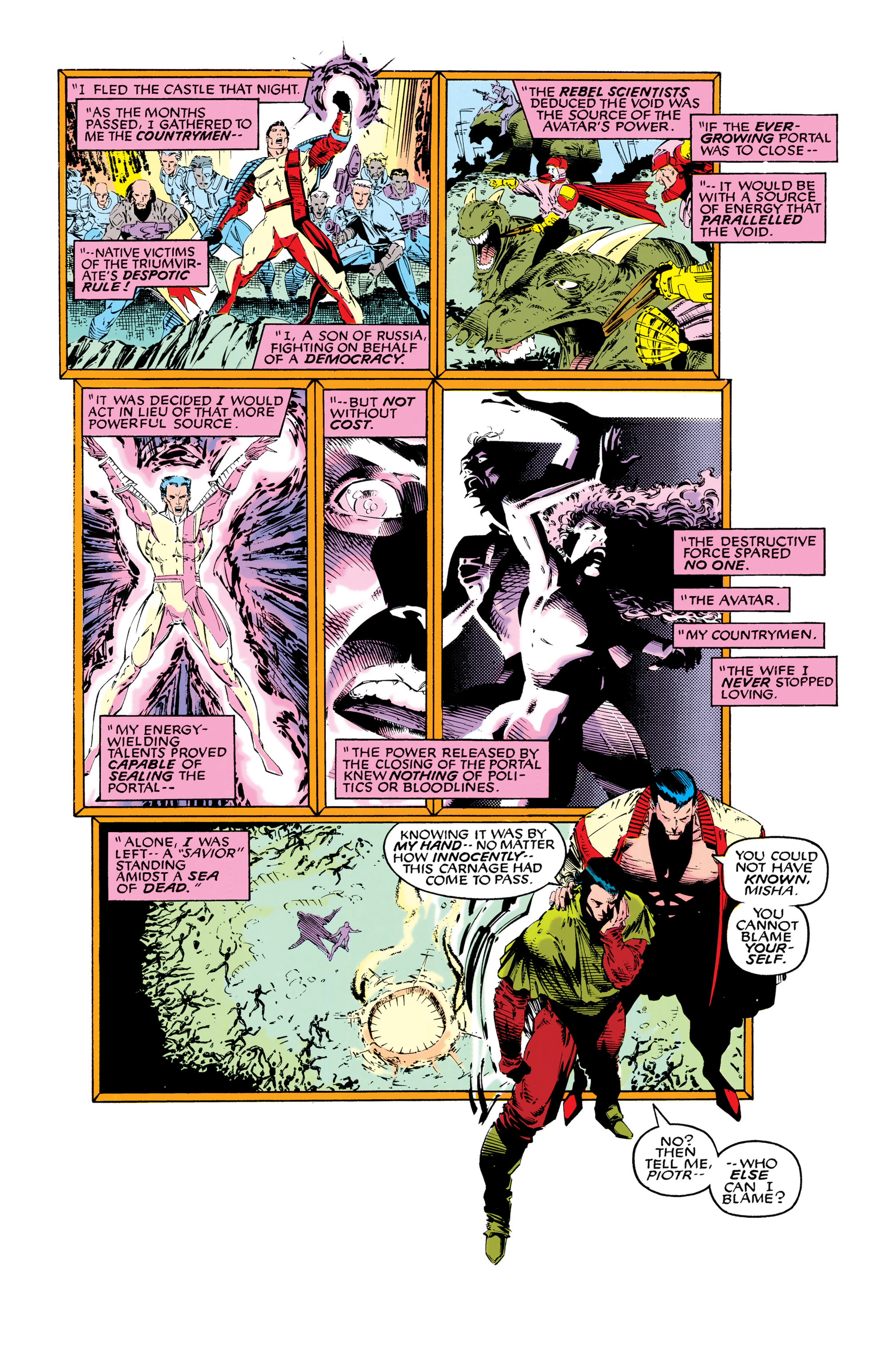 Read online Uncanny X-Men (1963) comic -  Issue #286 - 6