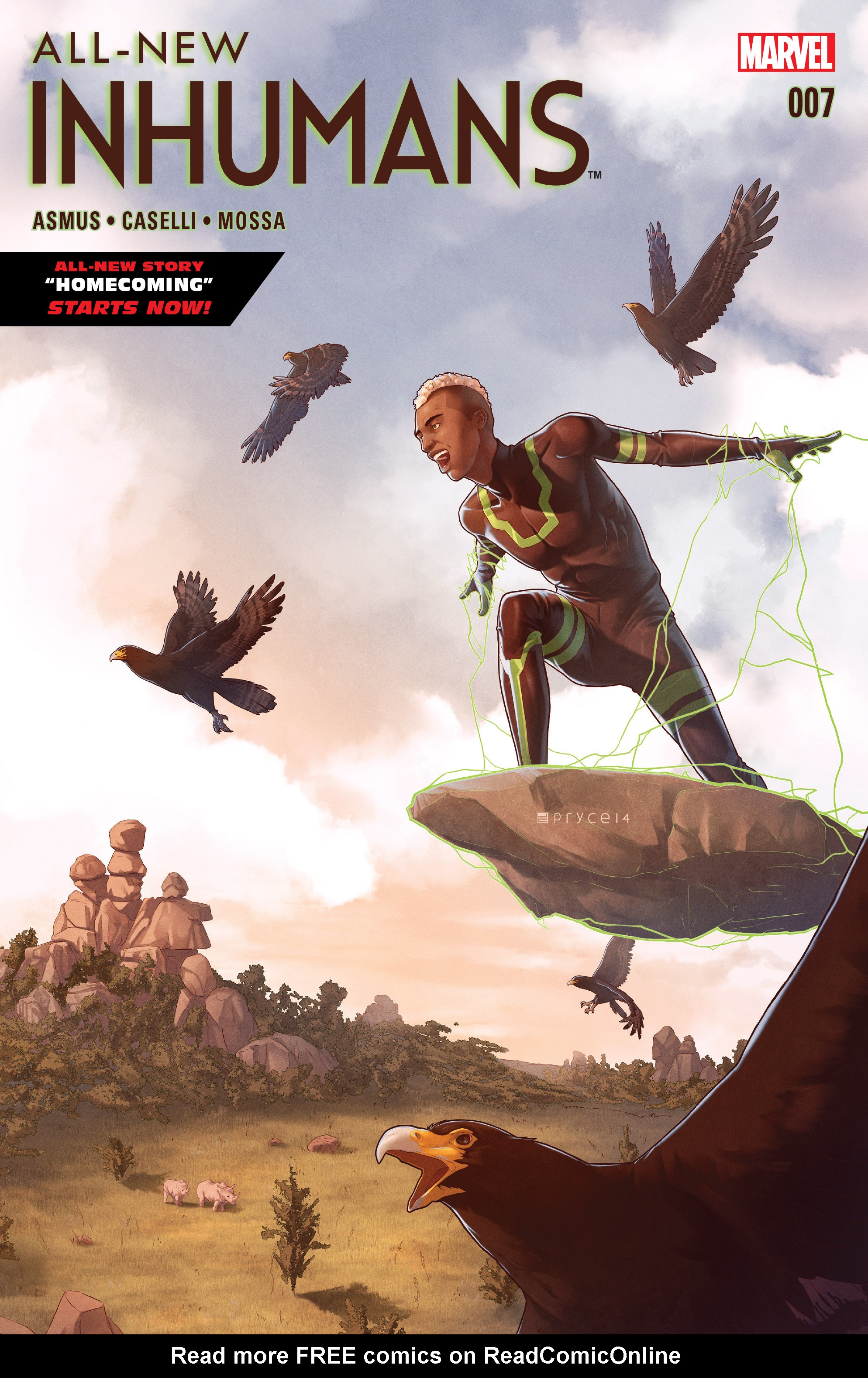 Read online All-New Inhumans comic -  Issue #7 - 1