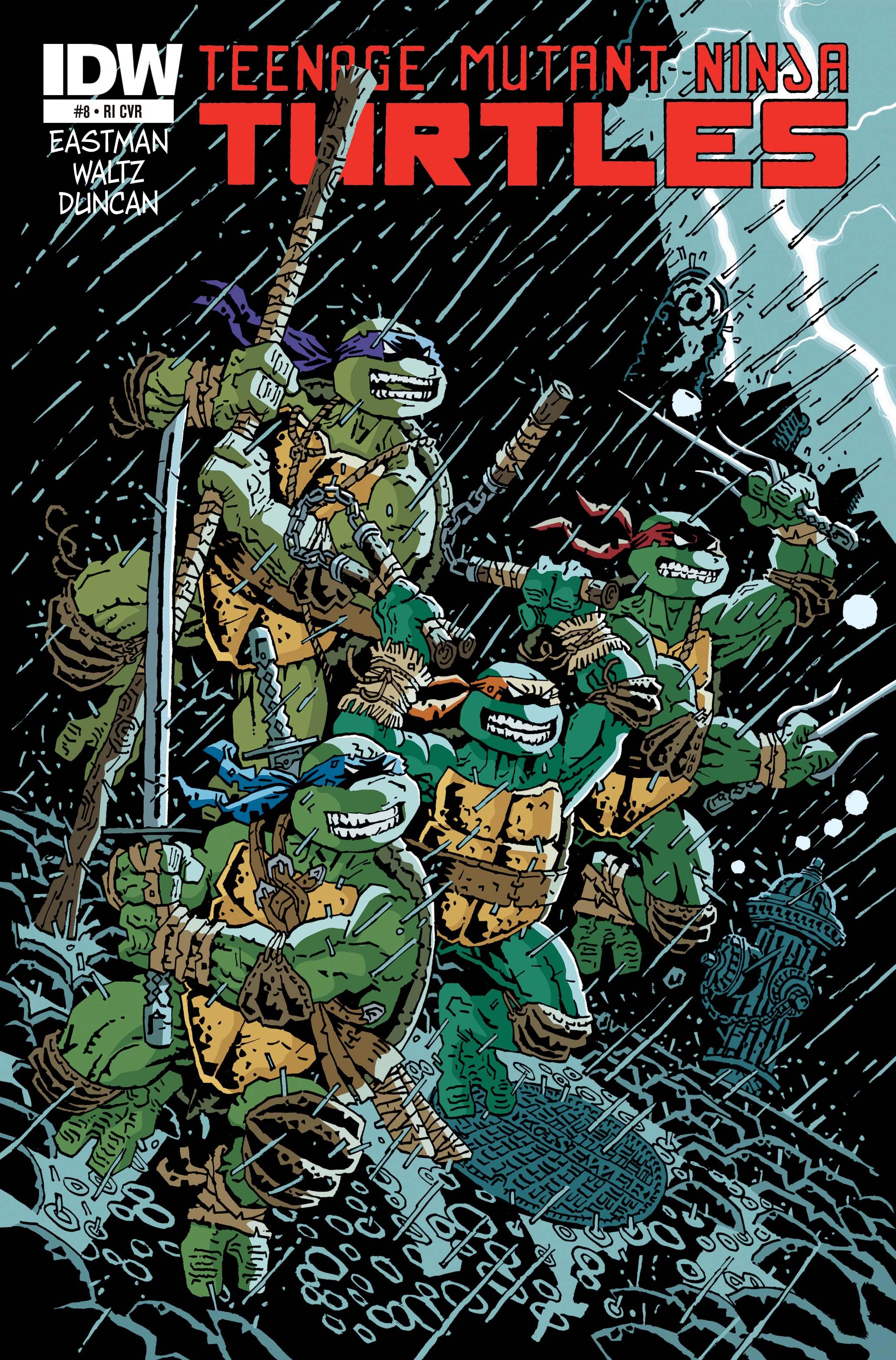 Teenage Mutant Ninja Turtles (2011) 8 Page 1