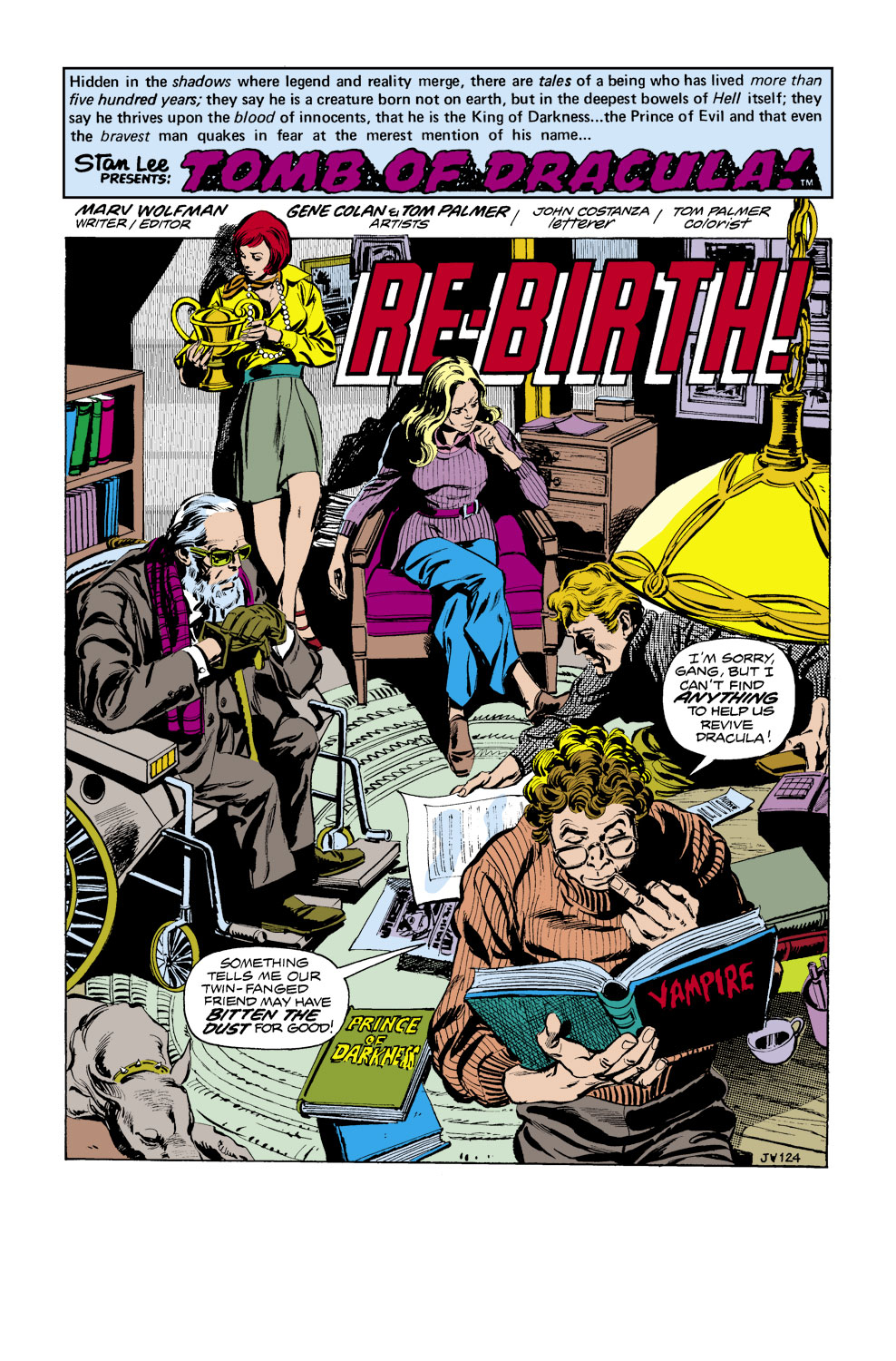 Tomb of Dracula (1972) issue 41 - Page 2