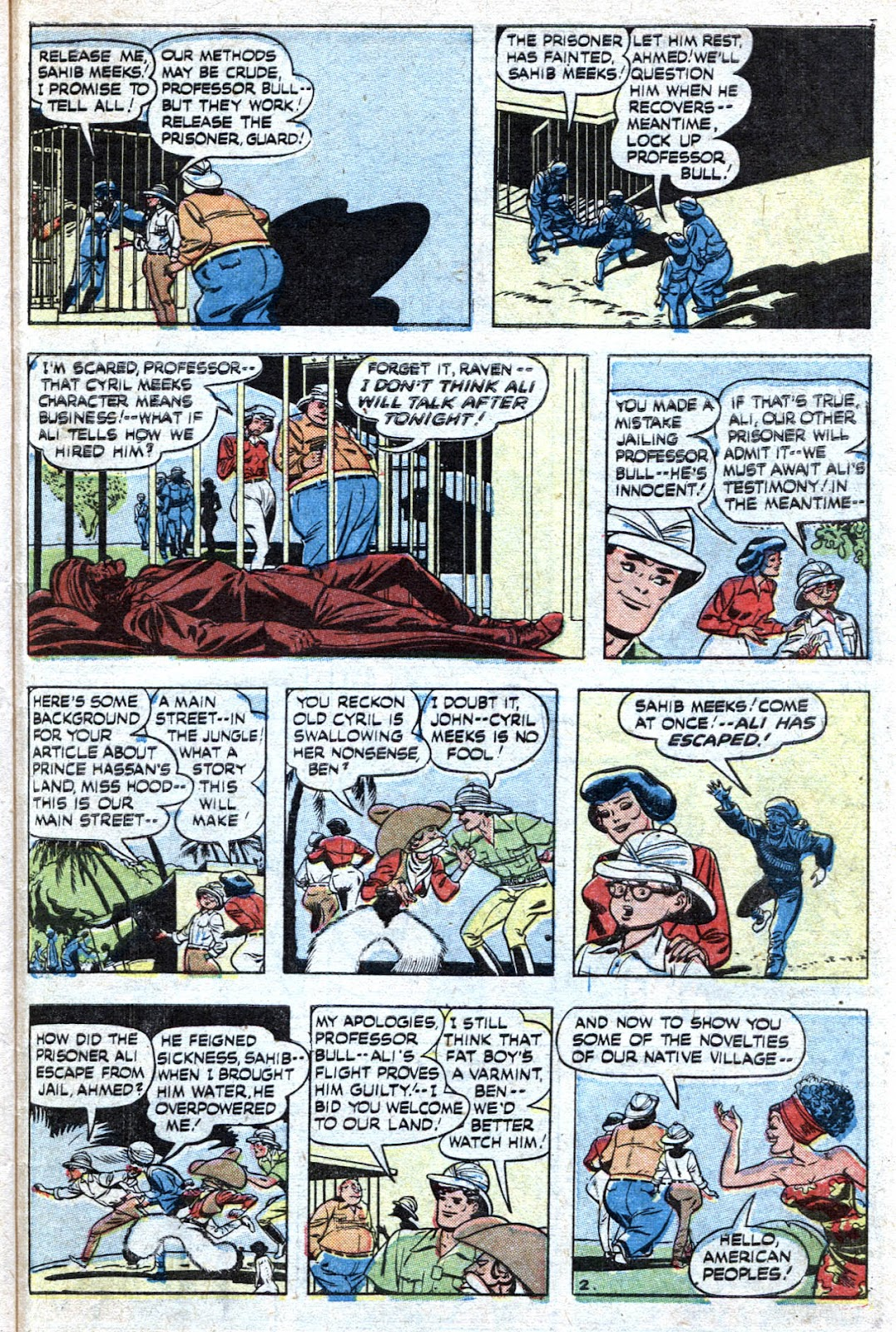 Read online Famous Funnies comic -  Issue #193 - 41