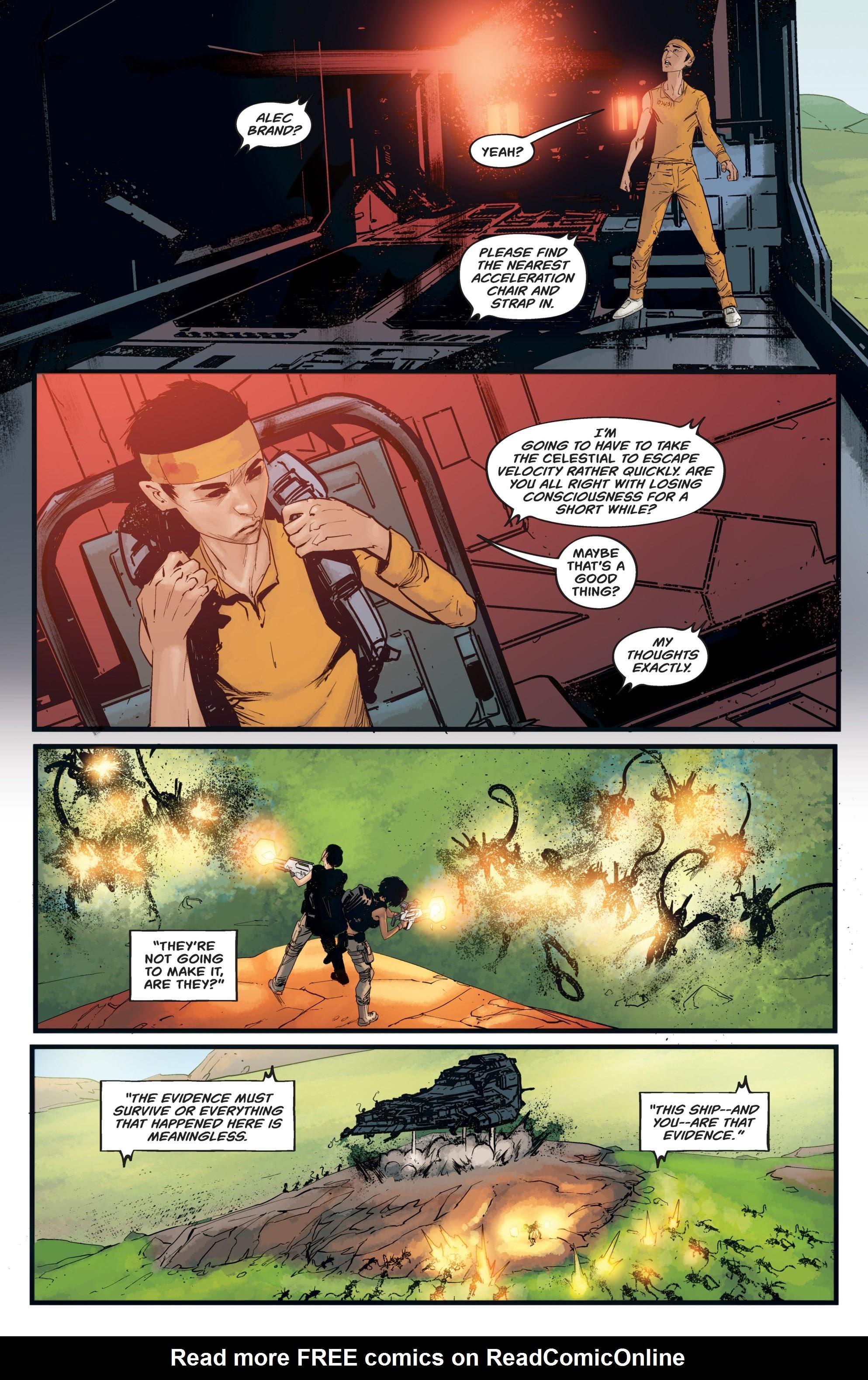 Read online Aliens: Resistance comic -  Issue # _TPB - 88