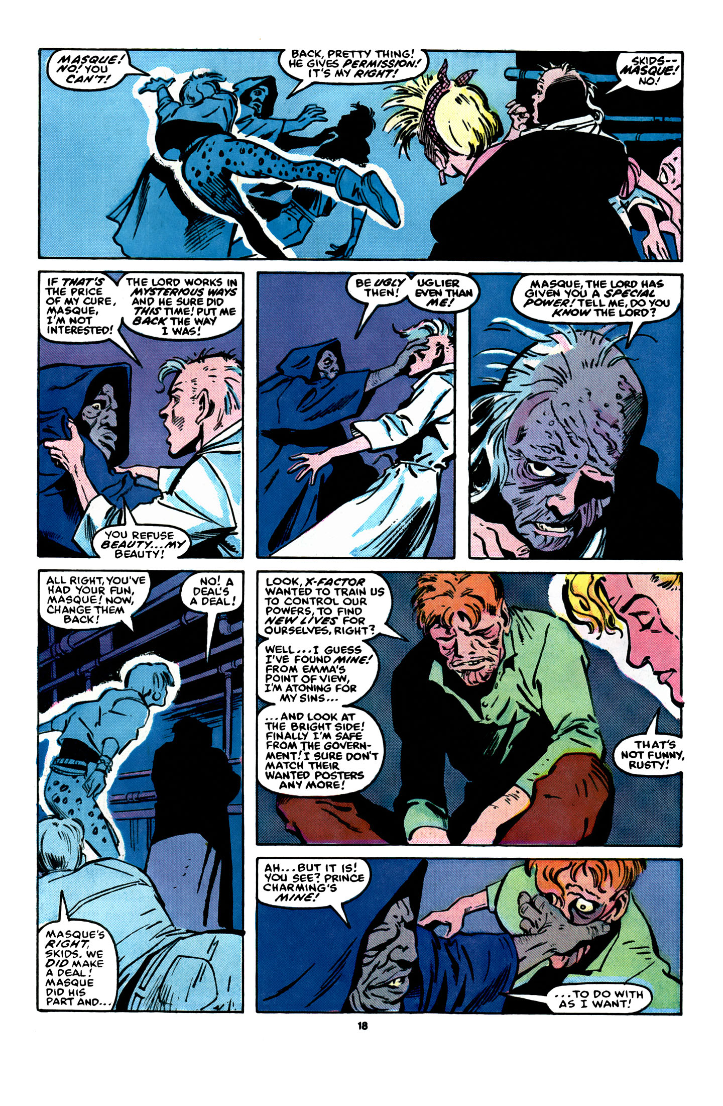 Read online X-Factor (1986) comic -  Issue #16 - 19