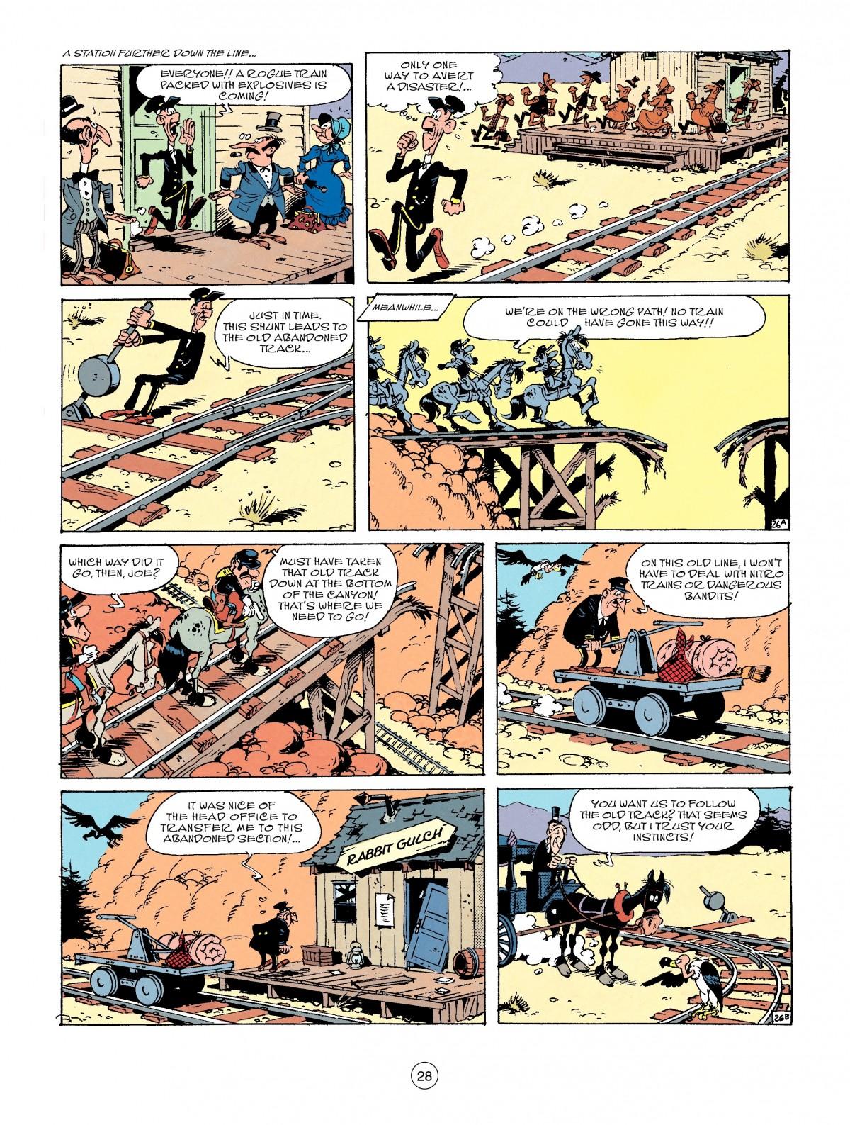 Read online A Lucky Luke Adventure comic -  Issue #53 - 28