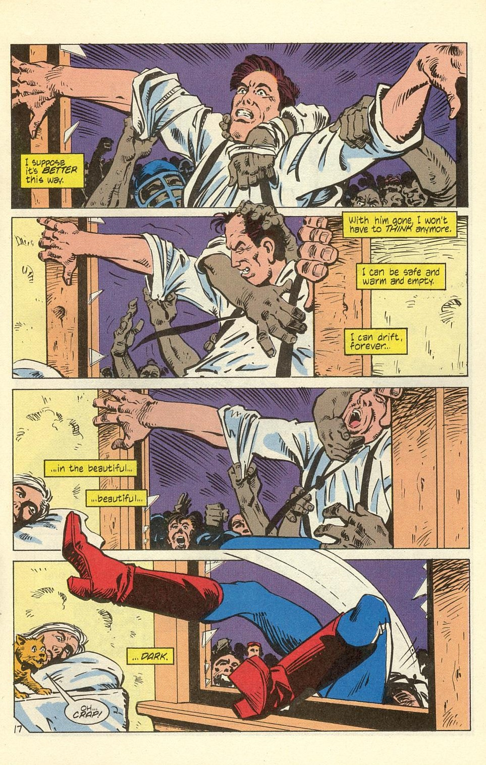 Read online American Flagg! comic -  Issue #40 - 21