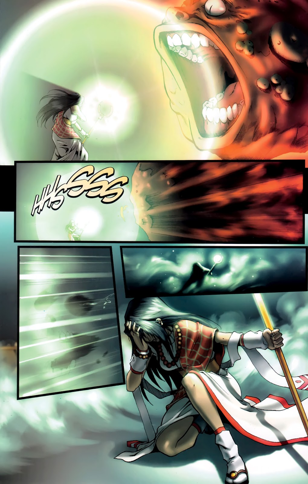 Read online Xin: Journey of the Monkey King comic -  Issue #1 - 15