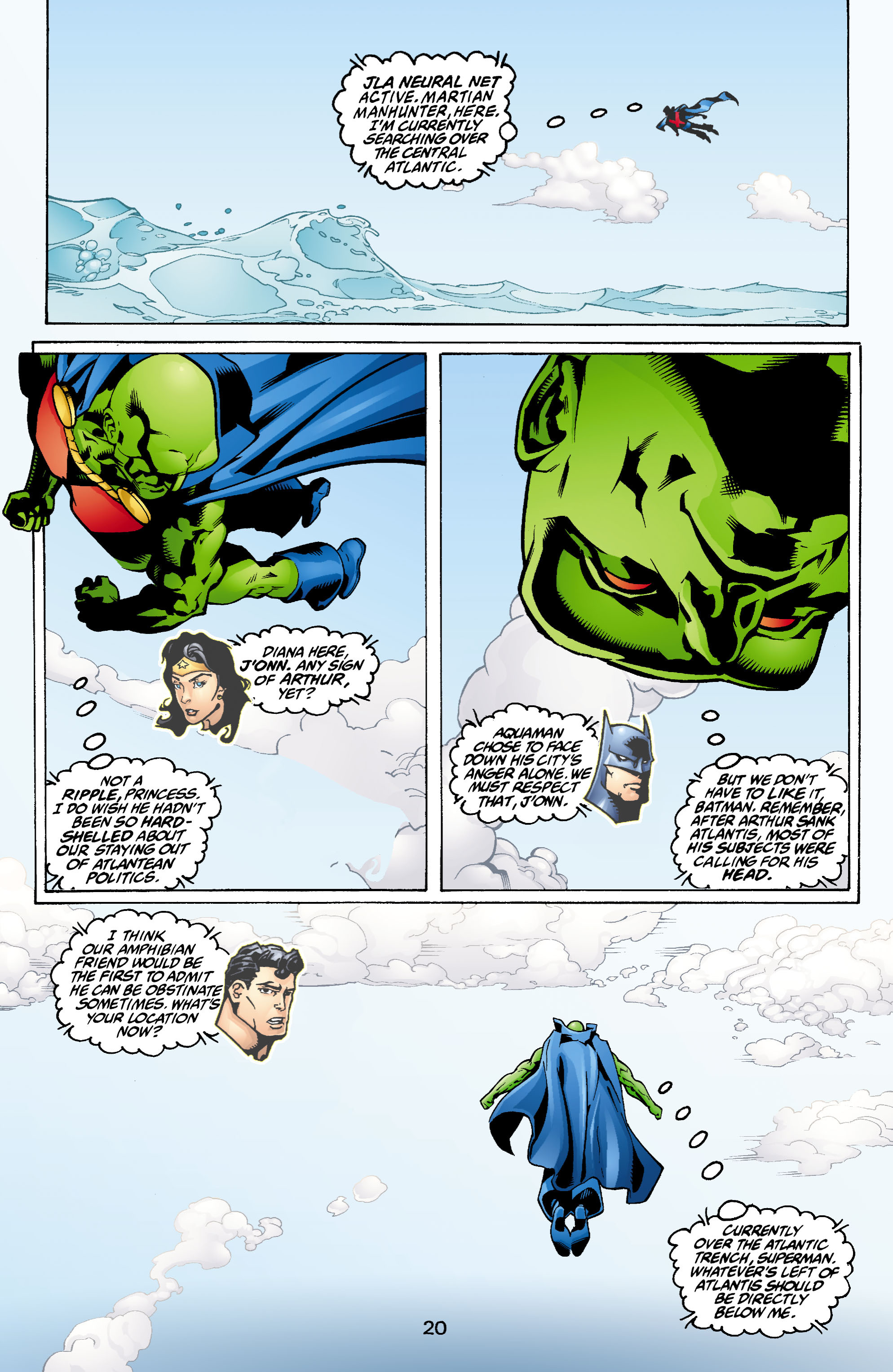 Read online Aquaman (2003) comic -  Issue #1 - 21