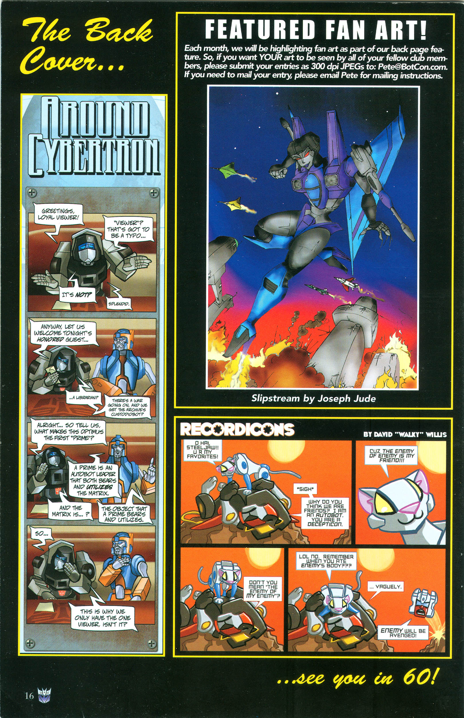 Read online Transformers: Collectors' Club comic -  Issue #37 - 16