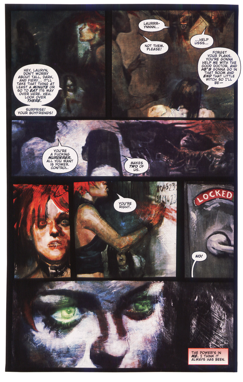 Read online Silent Hill: Dying Inside comic -  Issue #5 - 20