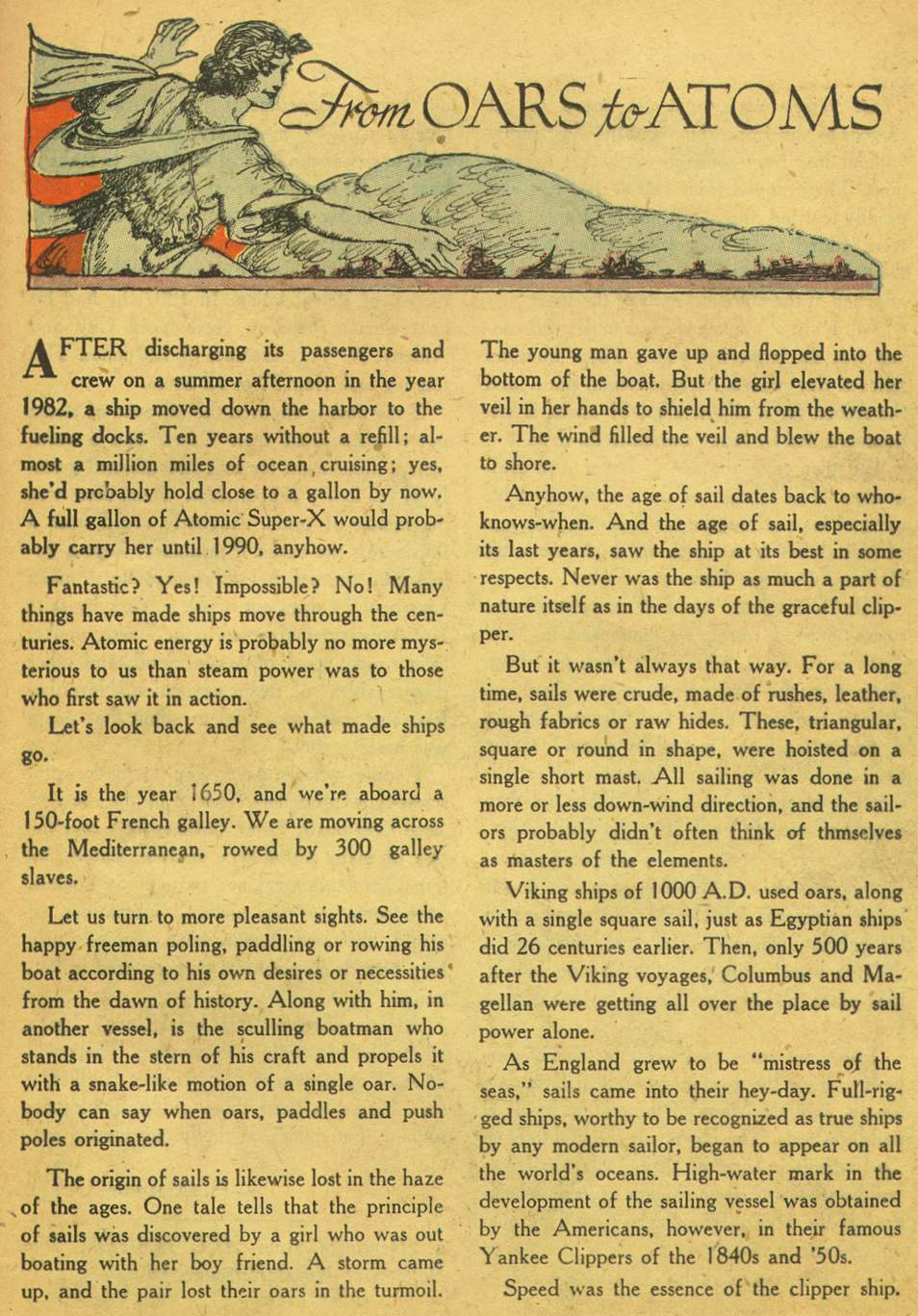 Read online Adventure Comics (1938) comic -  Issue #164 - 37