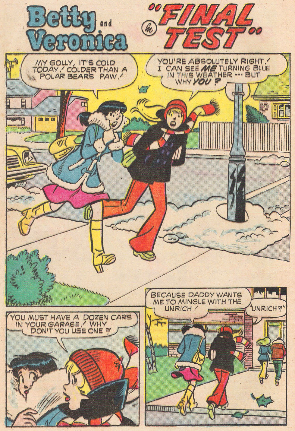 Read online Archie's Girls Betty and Veronica comic -  Issue #246 - 20