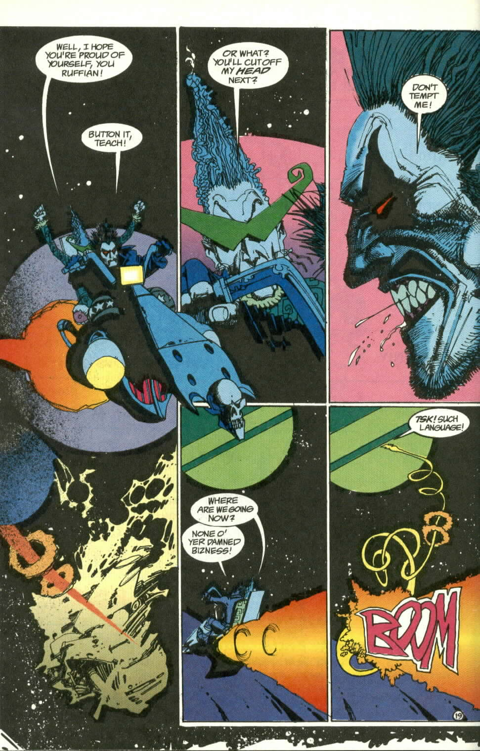 Read online Lobo (1990) comic -  Issue #3 - 20