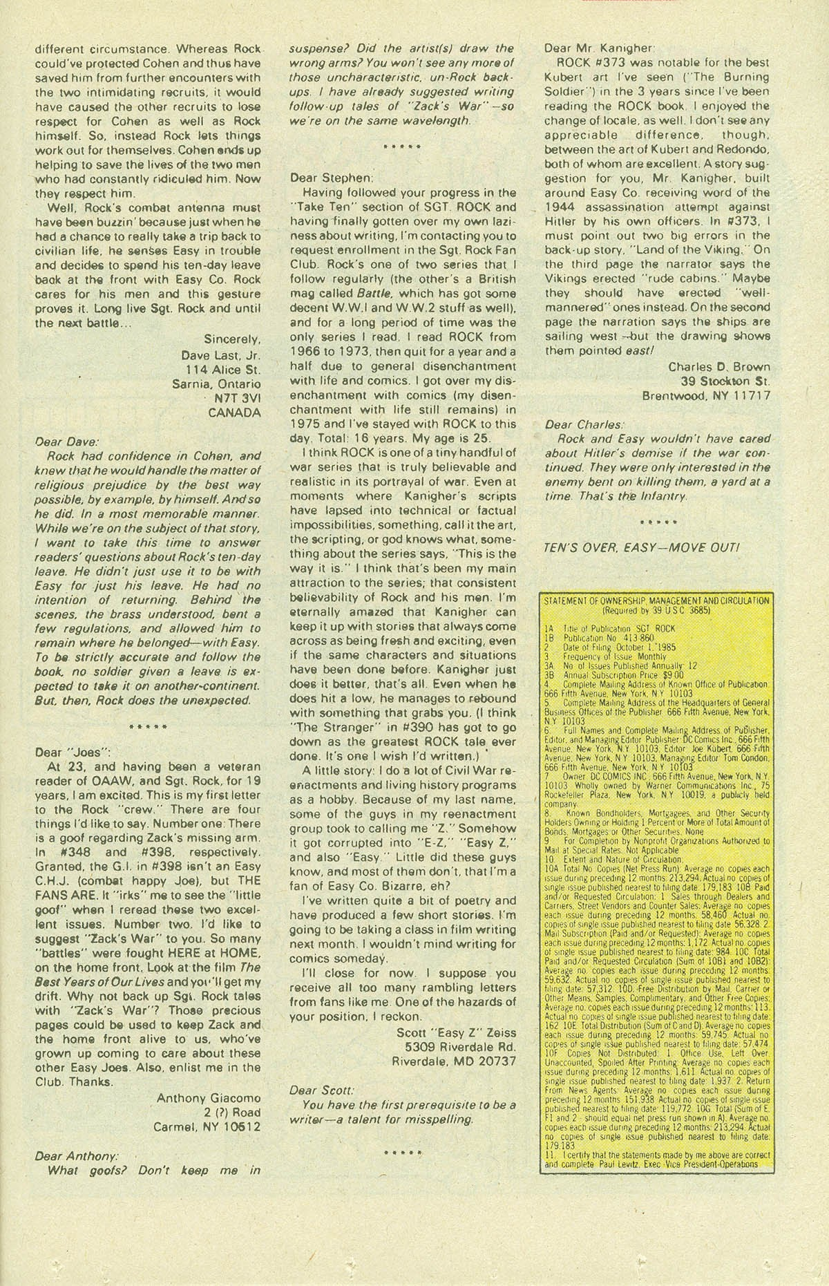 Read online Sgt. Rock comic -  Issue #409 - 24