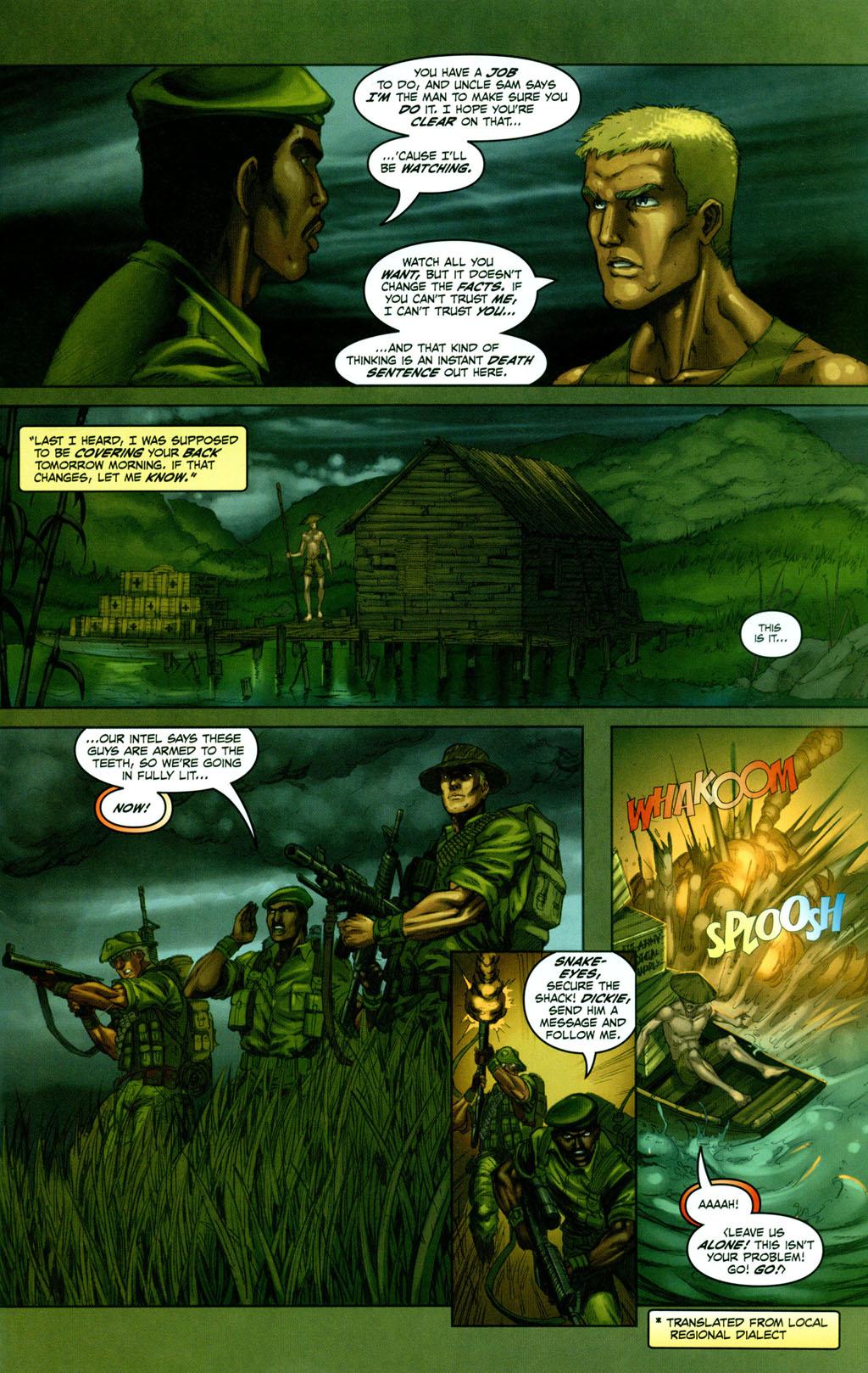 Read online Snake Eyes: Declassified comic -  Issue #1 - 11