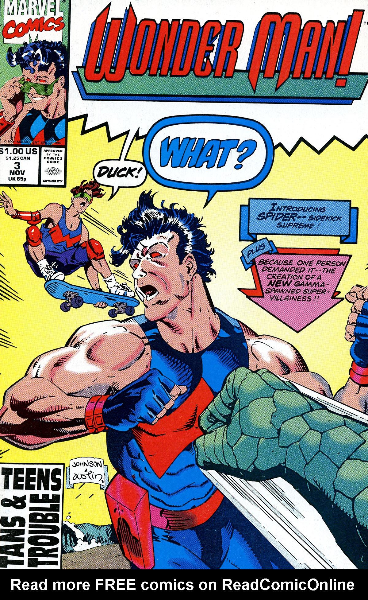 Read online Wonder Man (1991) comic -  Issue #3 - 1