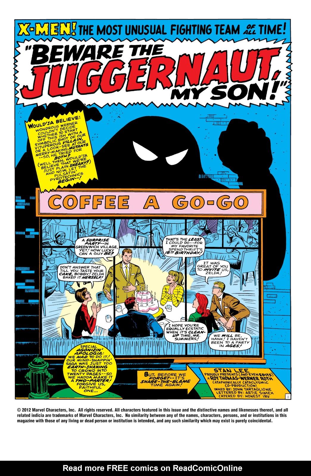Uncanny X-Men (1963) 32 Page 2