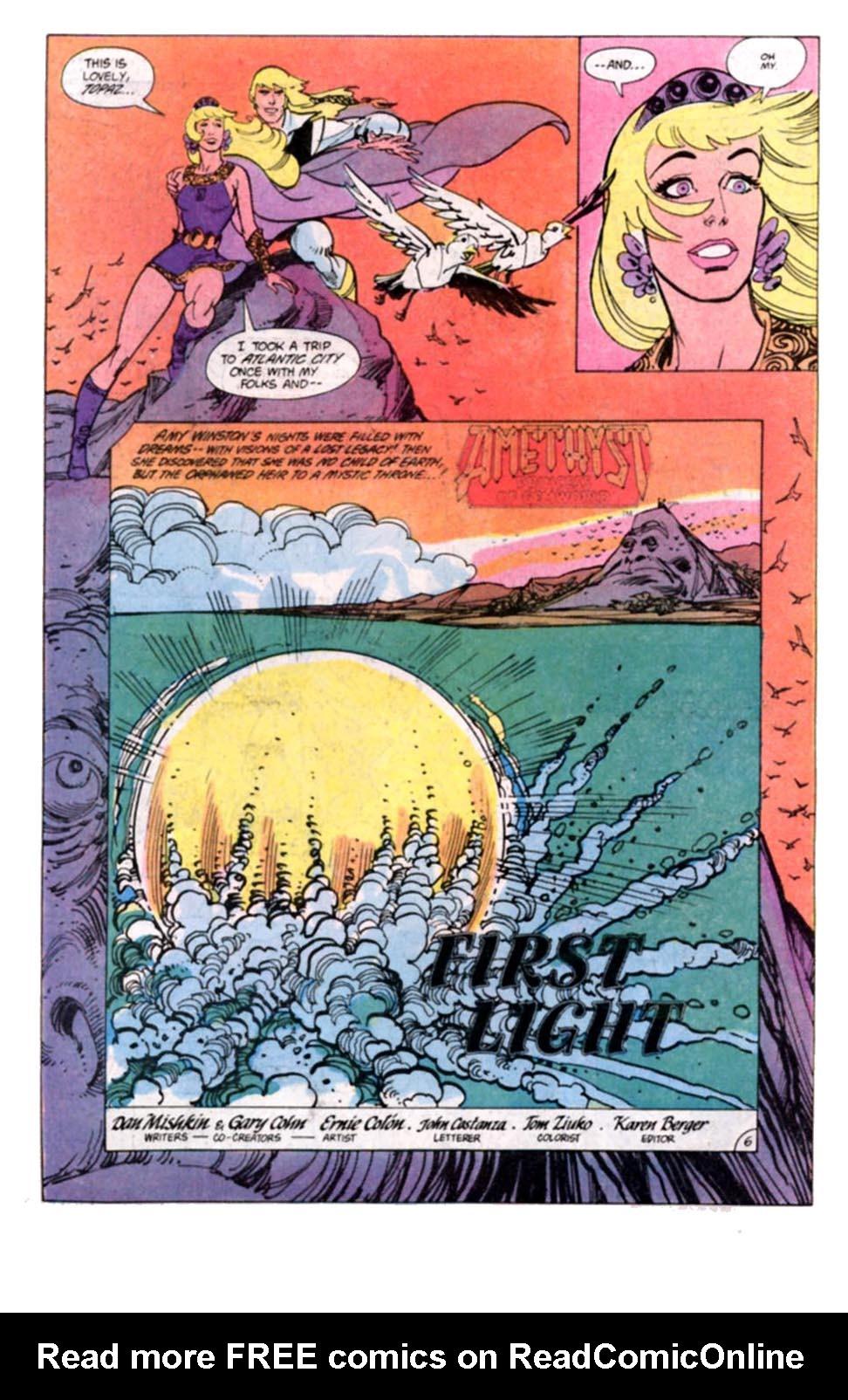 Read online Amethyst, Princess of Gemworld comic -  Issue #8 - 7