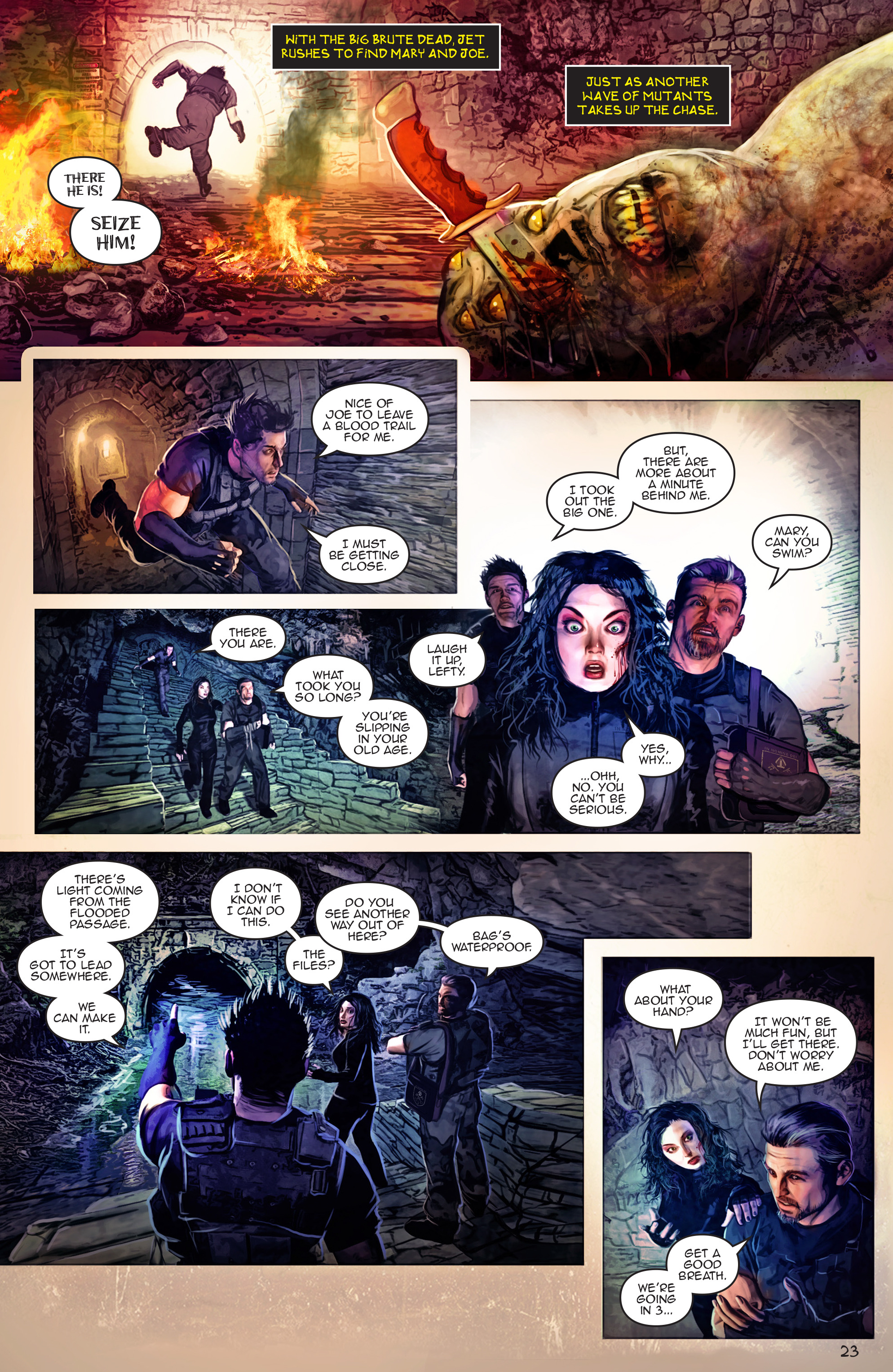 Read online Escape from Jesus Island comic -  Issue #4 - 23