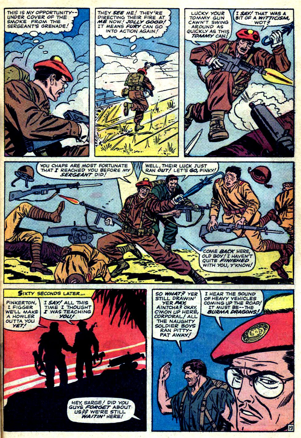 Read online Sgt. Fury comic -  Issue #23 - 27