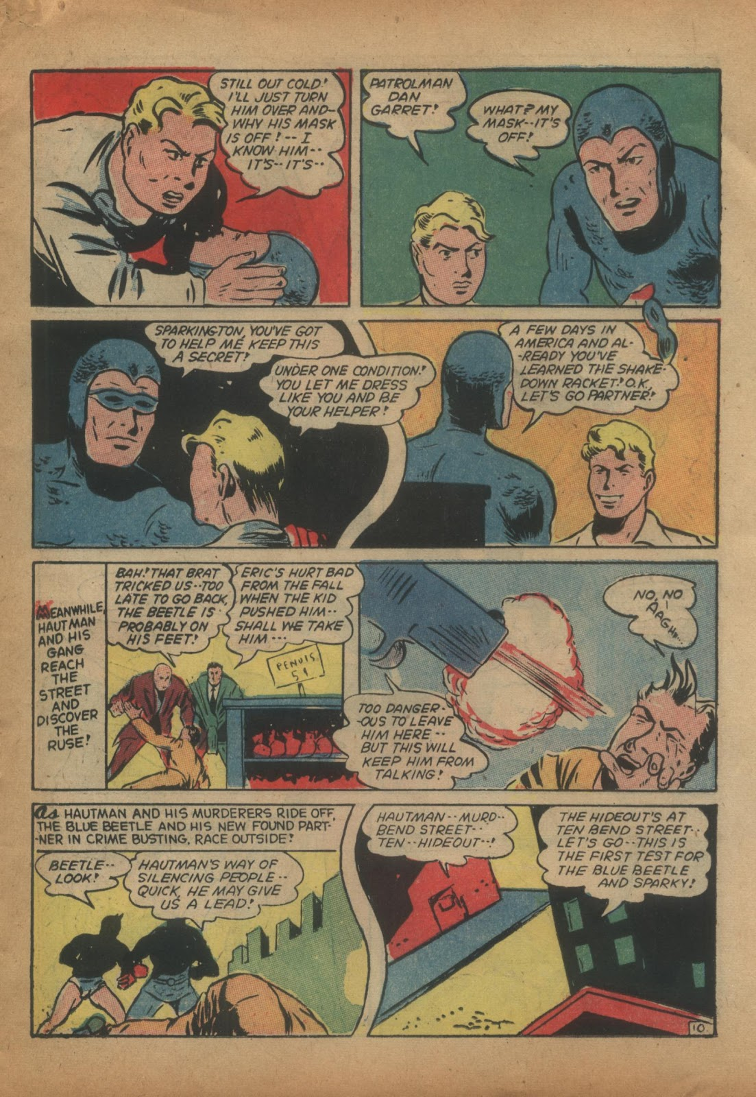 The Blue Beetle issue 15 - Page 29