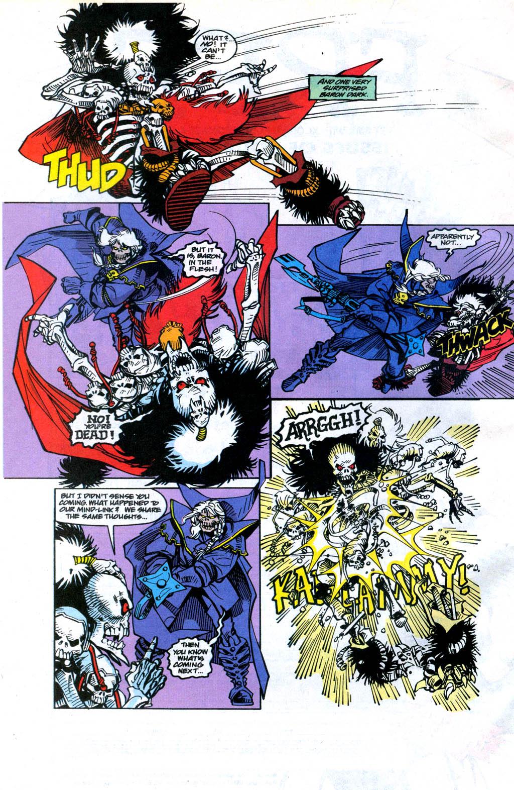 Skeleton Warriors Issue #4 #4 - English 21