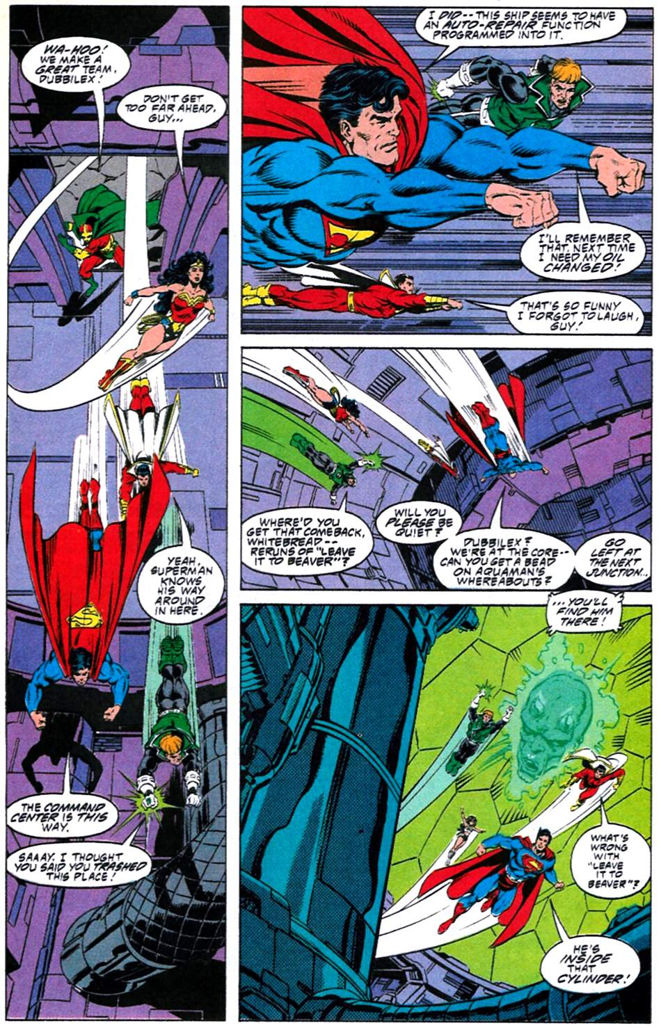 Read online Adventures of Superman (1987) comic -  Issue #488 - 8