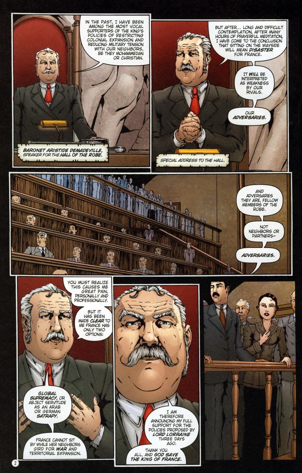Read online Rex Mundi comic -  Issue #7 - 6