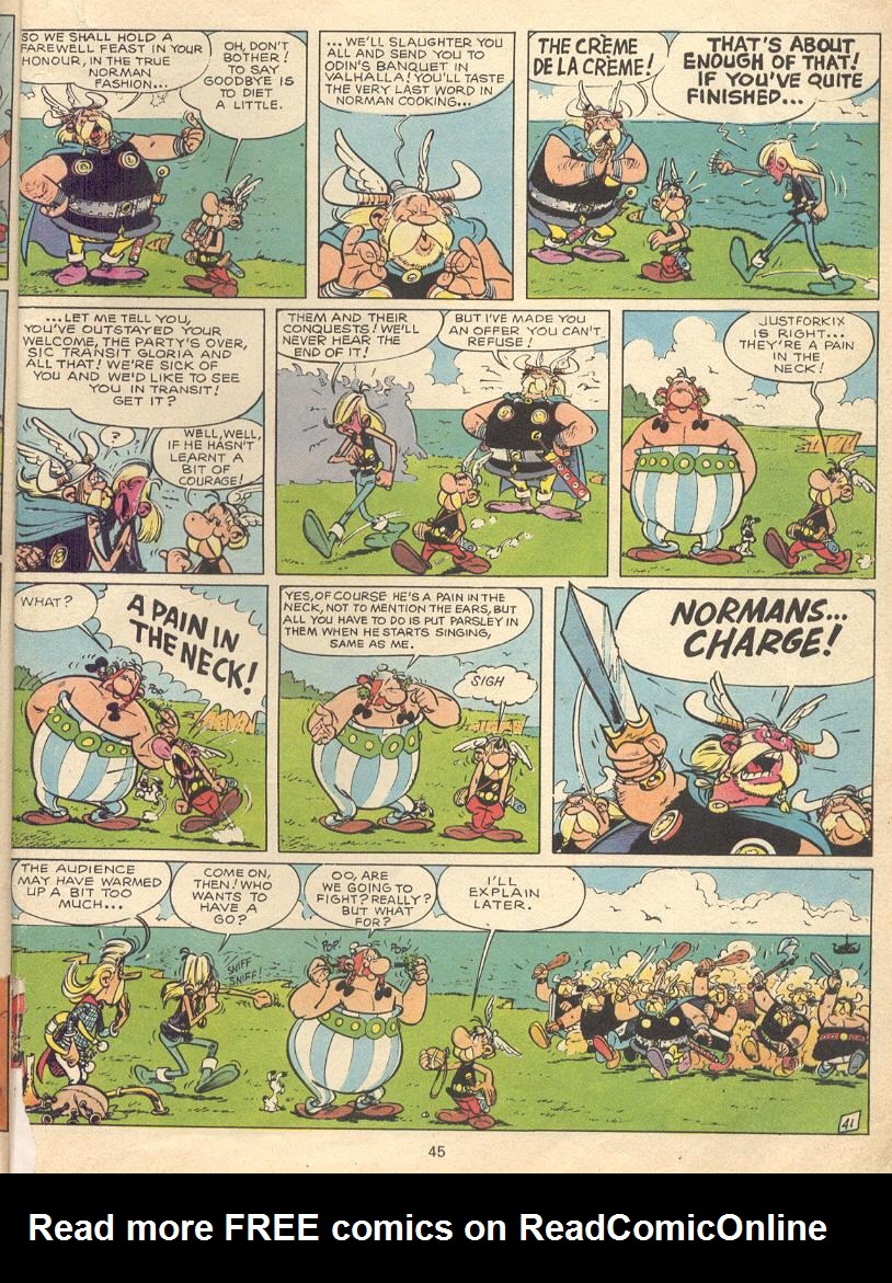 Read online Asterix comic -  Issue #9 - 42