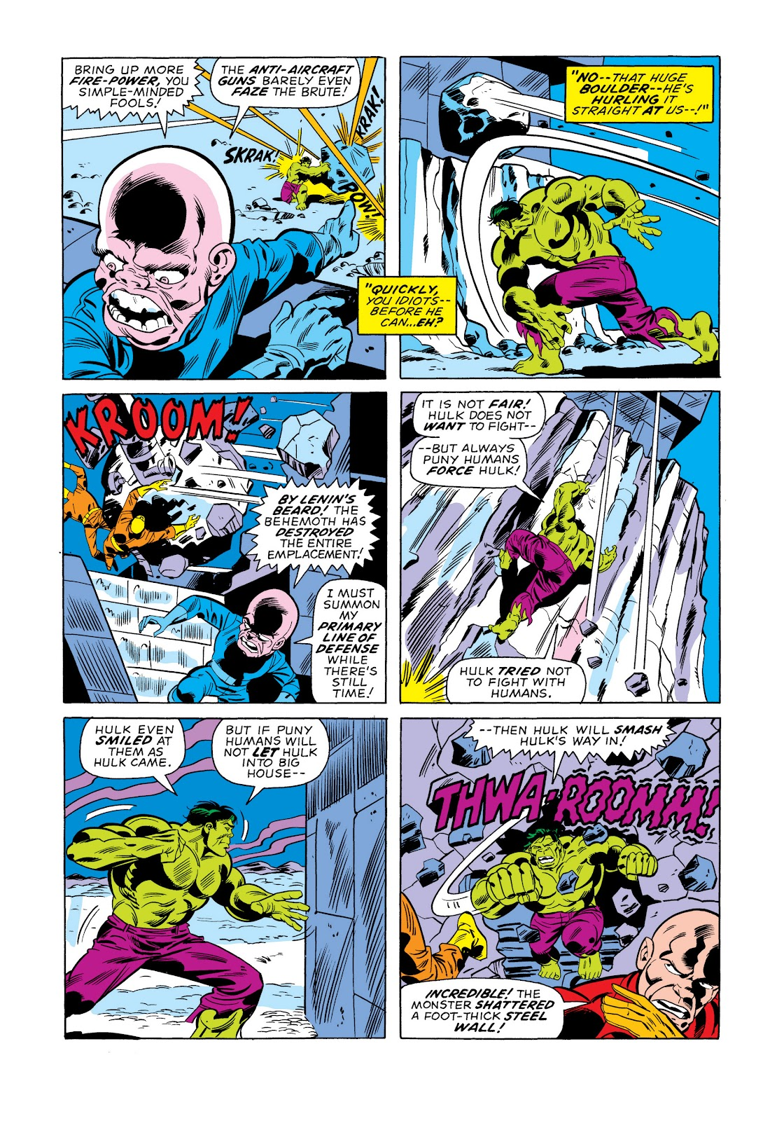Read online Marvel Masterworks: The Incredible Hulk comic -  Issue # TPB 11 (Part 1) - 77