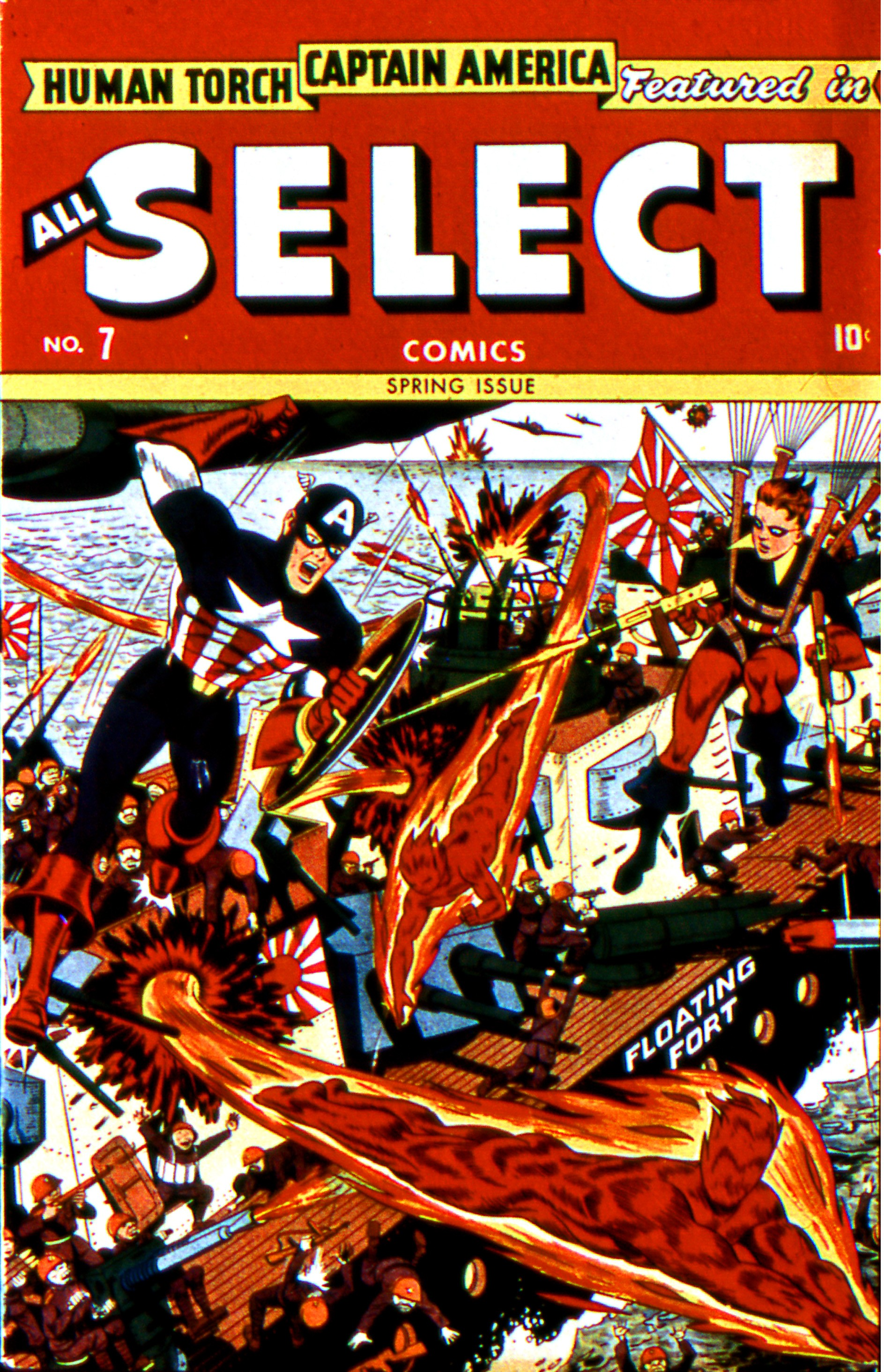 Read online All-Select Comics comic -  Issue #7 - 2