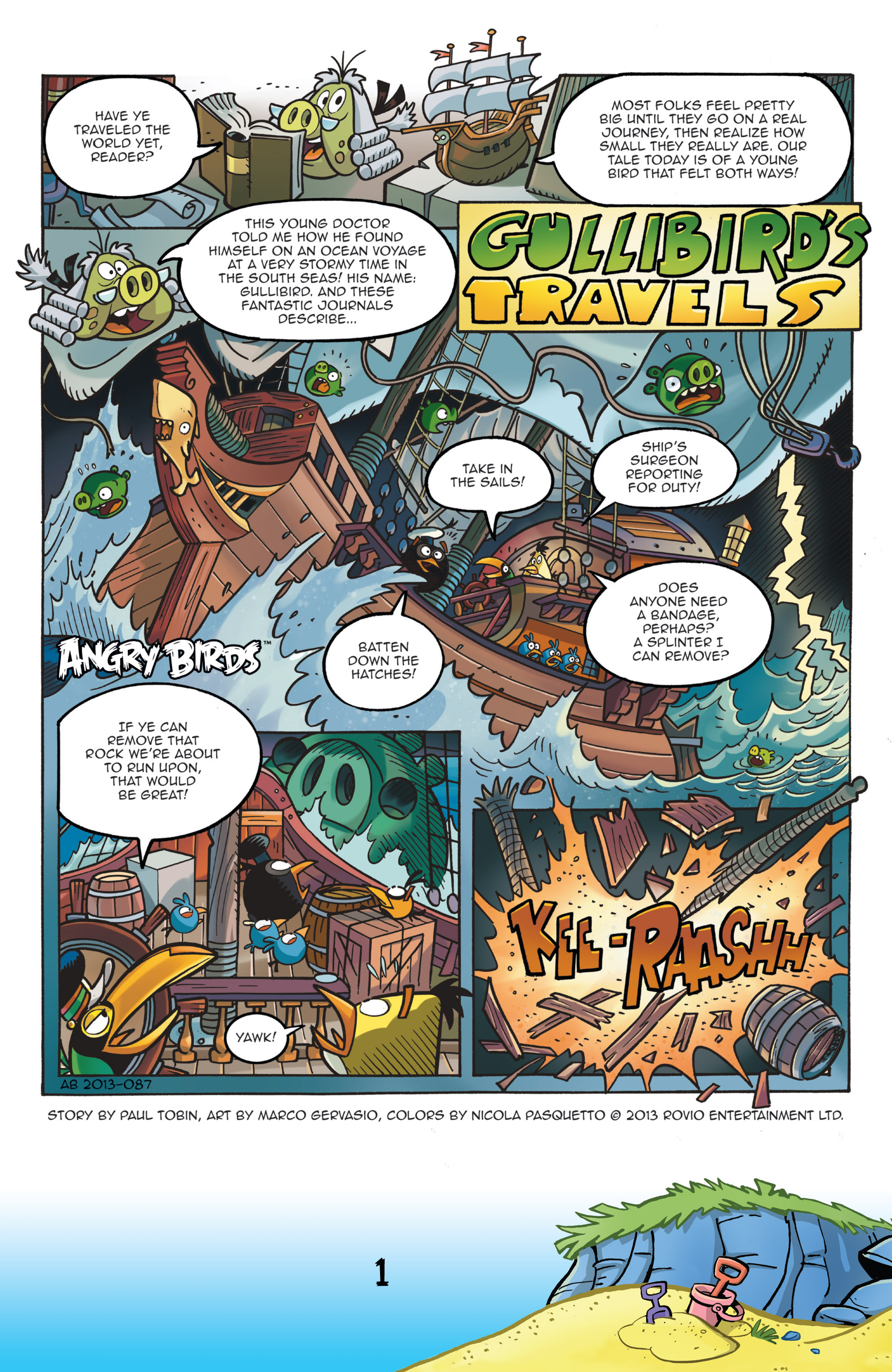 Read online Angry Birds Comics (2016) comic -  Issue #7 - 3