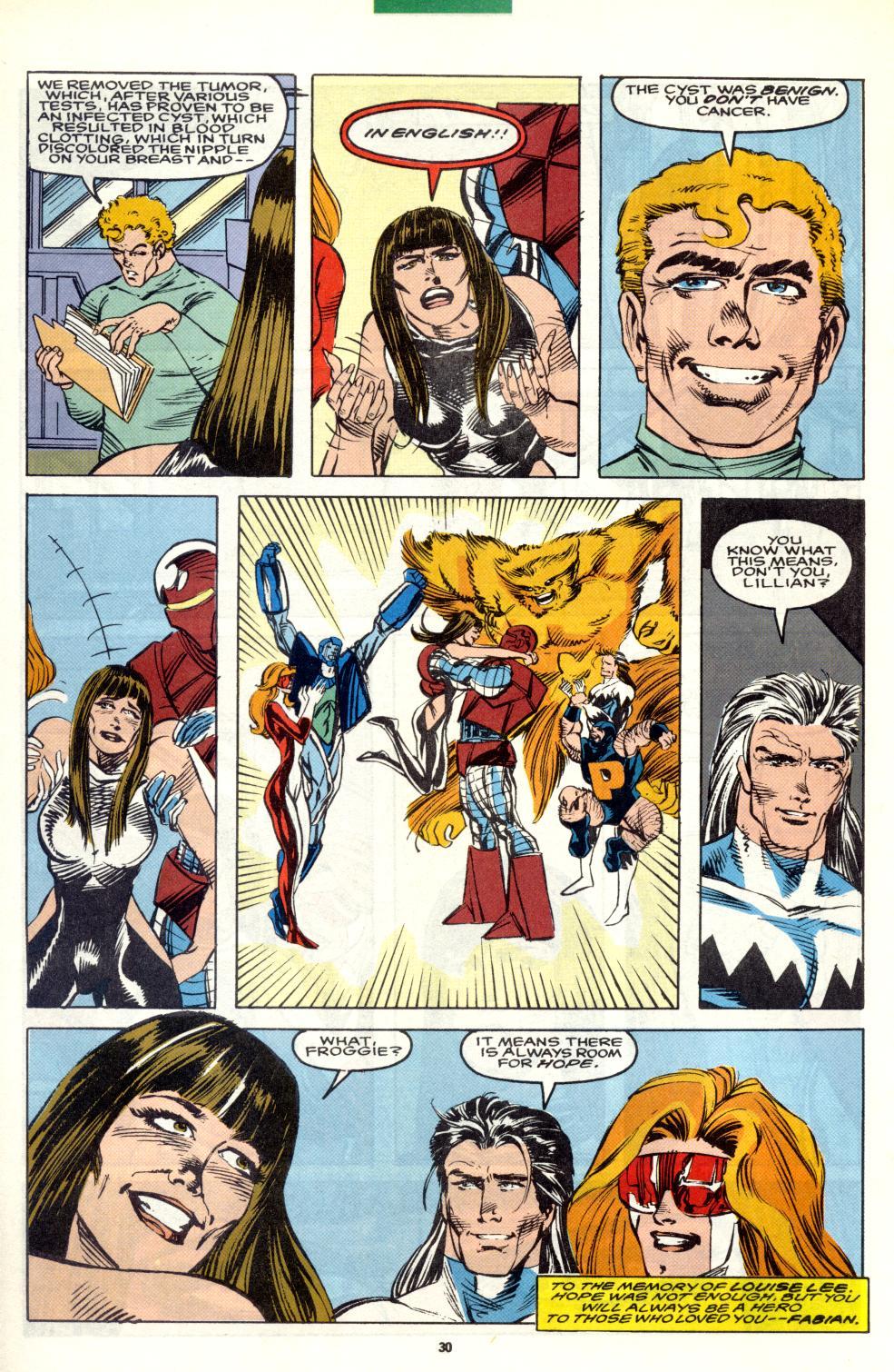 Read online Alpha Flight (1983) comic -  Issue #101 - 24